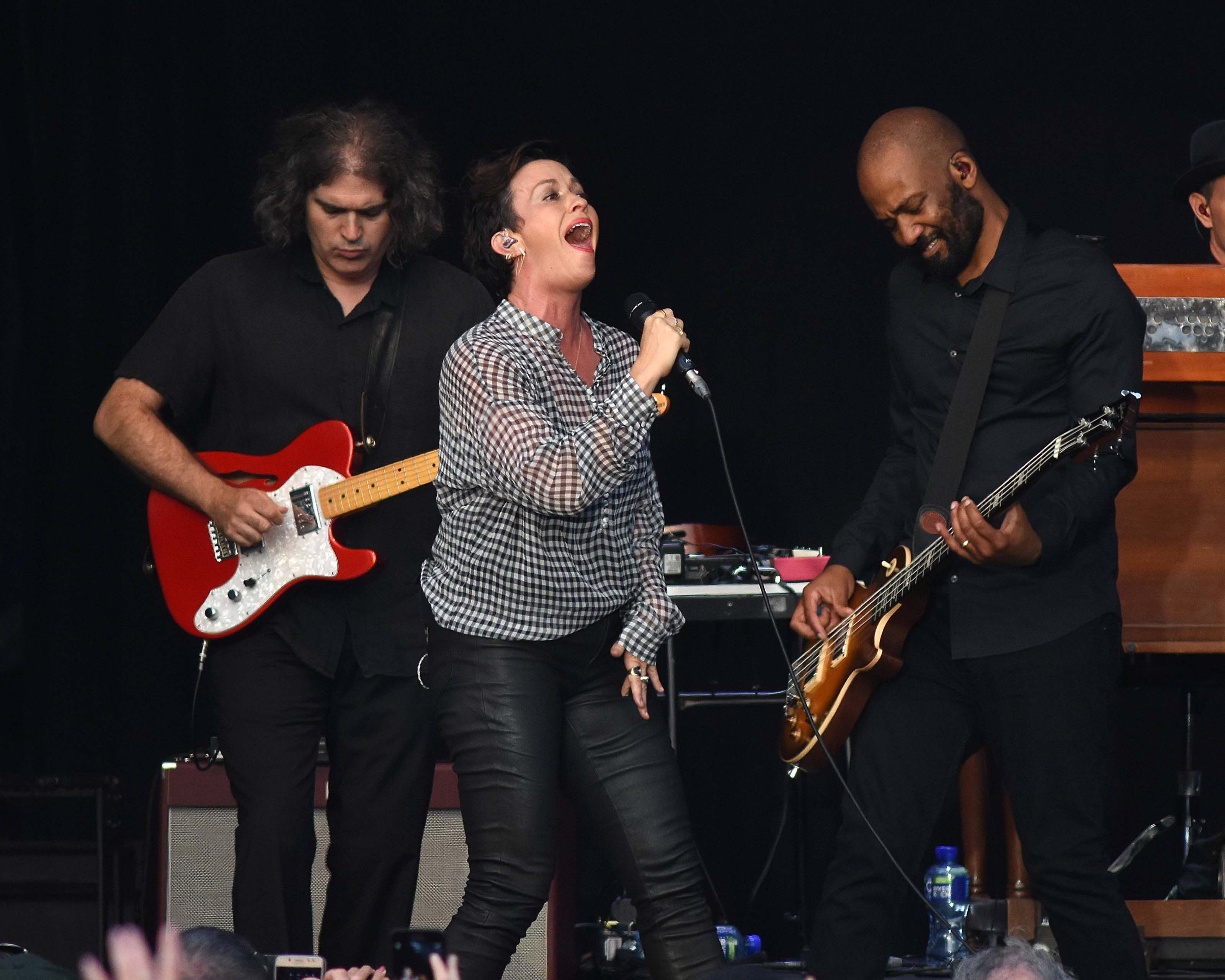 Alanis Morissette performs at Iveagh Gardens