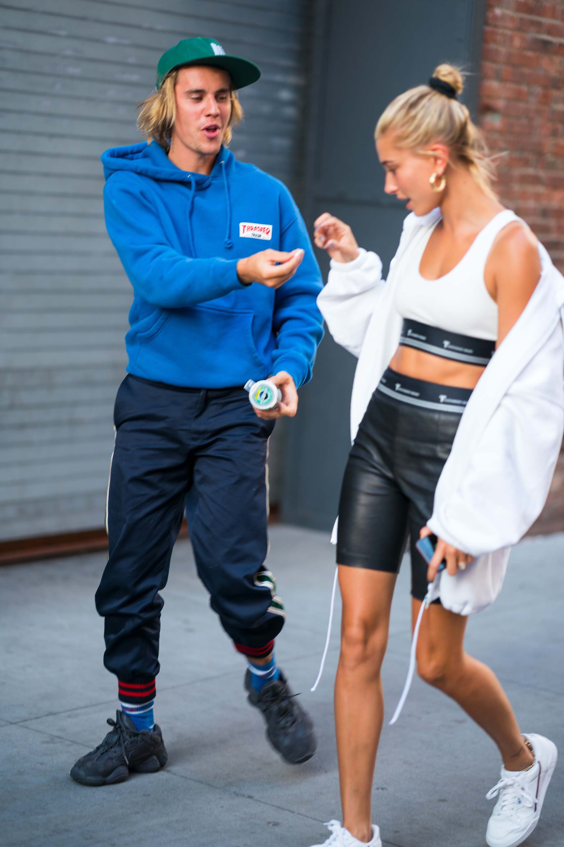Hailey Baldwin out in Brooklyn
