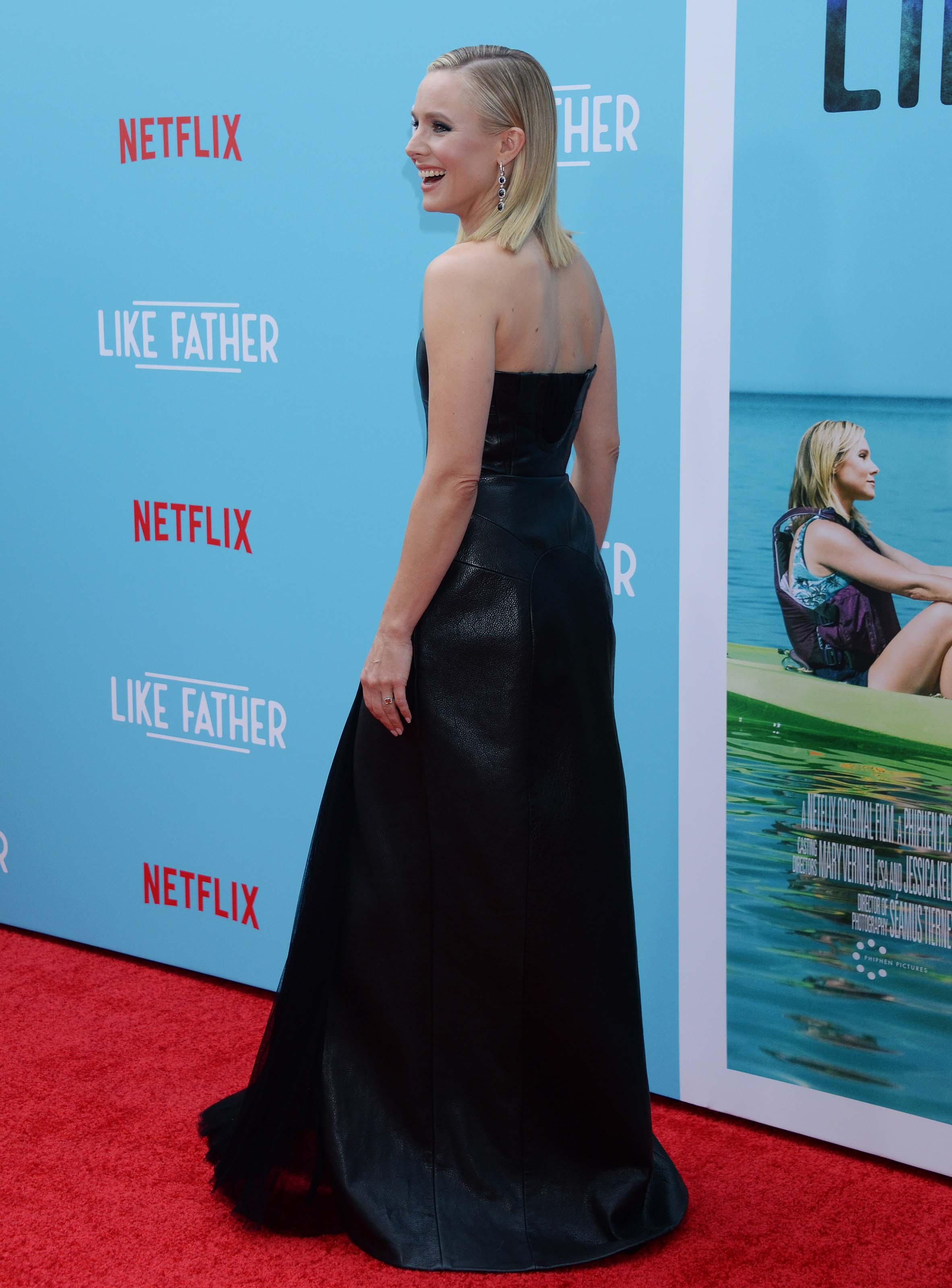 Kristen Bell attends Like Father film premiere