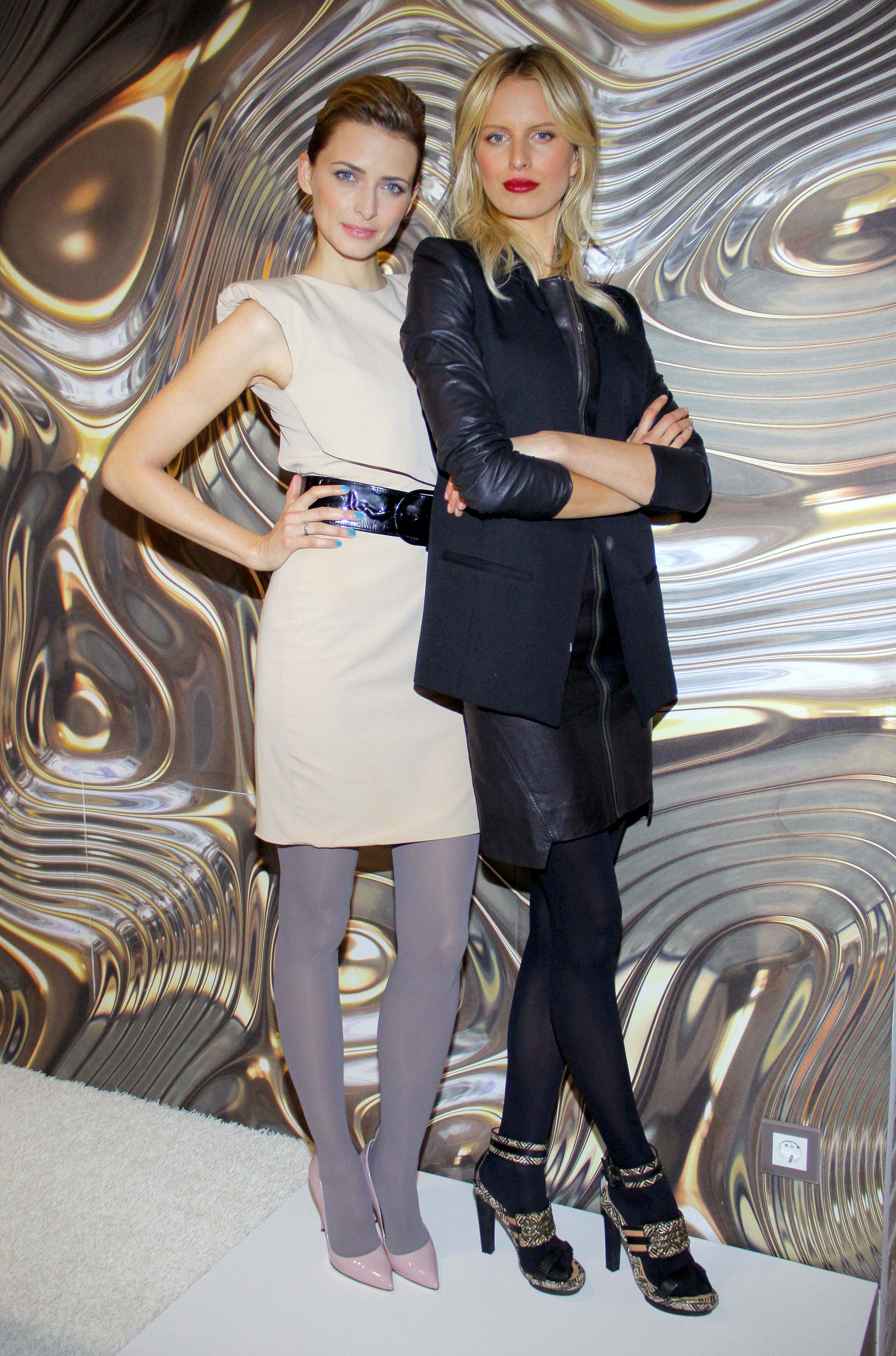 Karolina Kurkova attends Prague Fashion Week 2018