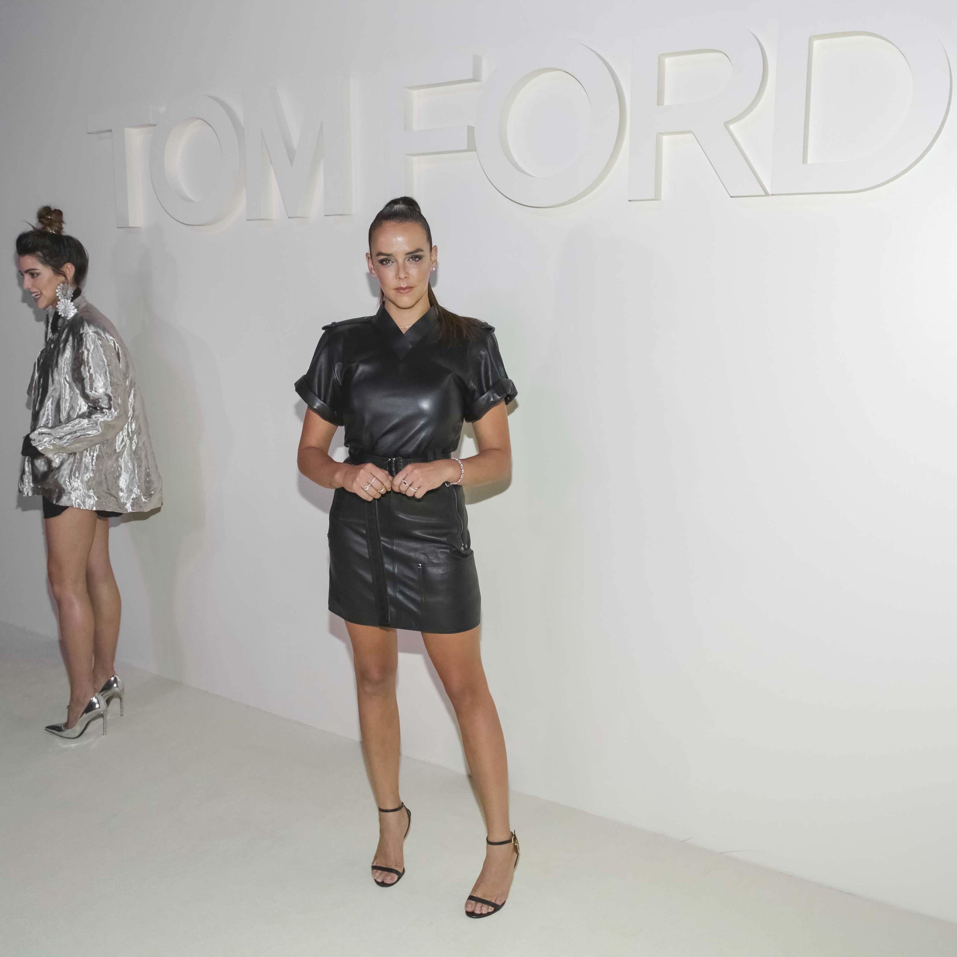Pauline Ducruet attends the Tom Ford fashion show