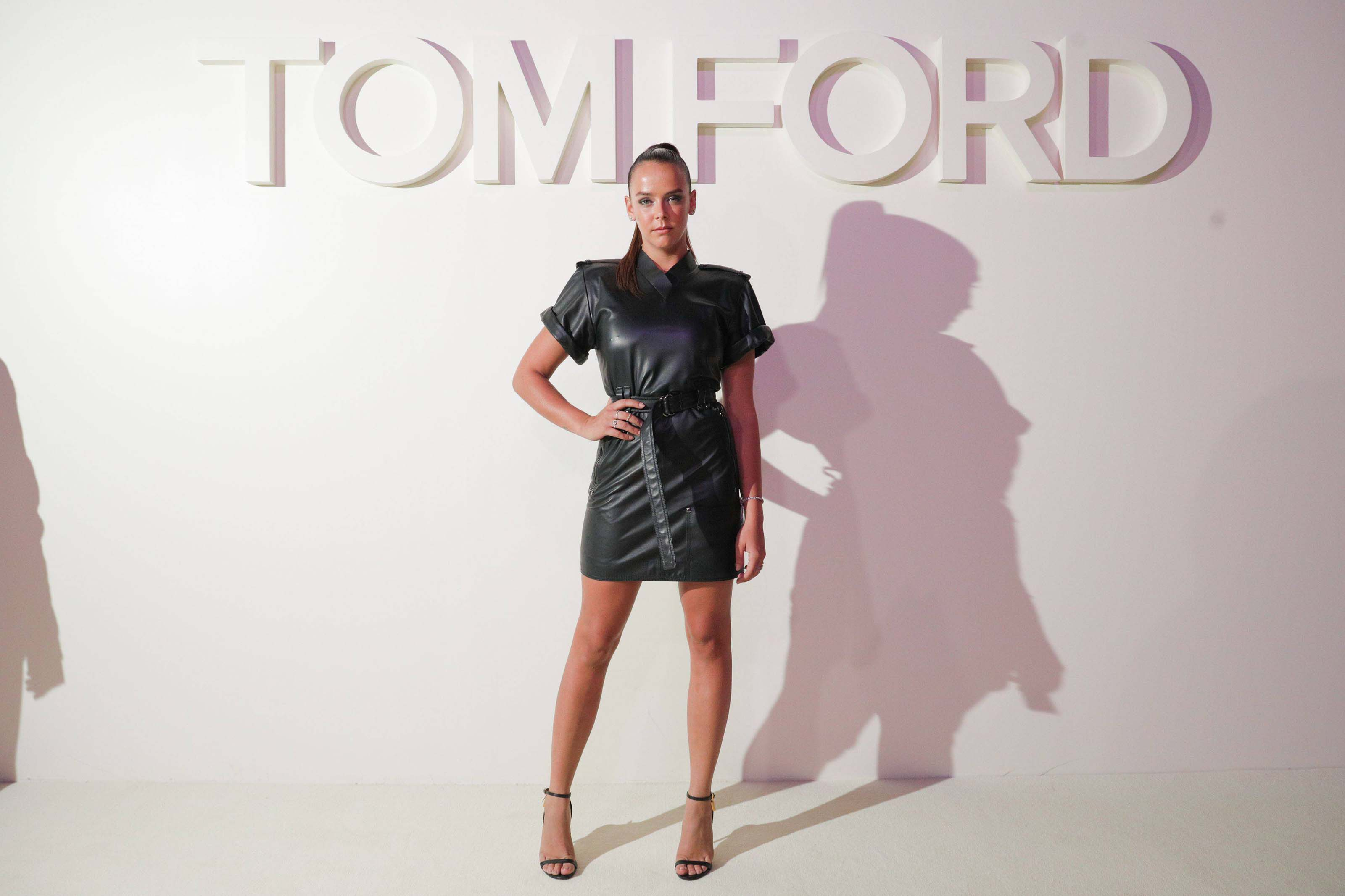 Pauline Ducruet attends the Tom Ford fashion show