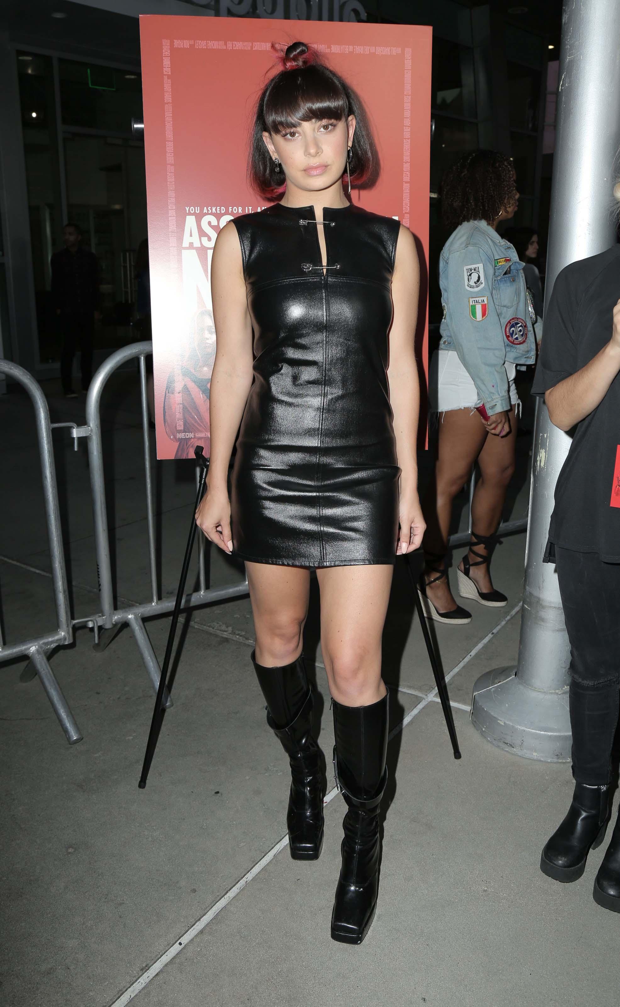 Charli XCX attends Assassination Nation Premiere