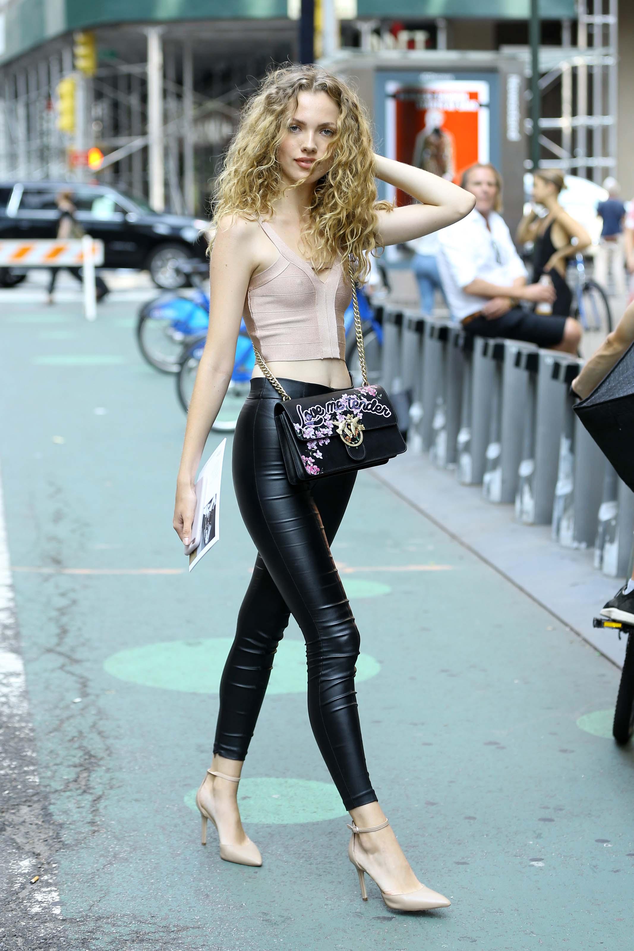 Tanya Kizko attends callbacks for the Victoria's Secret Fashion Show