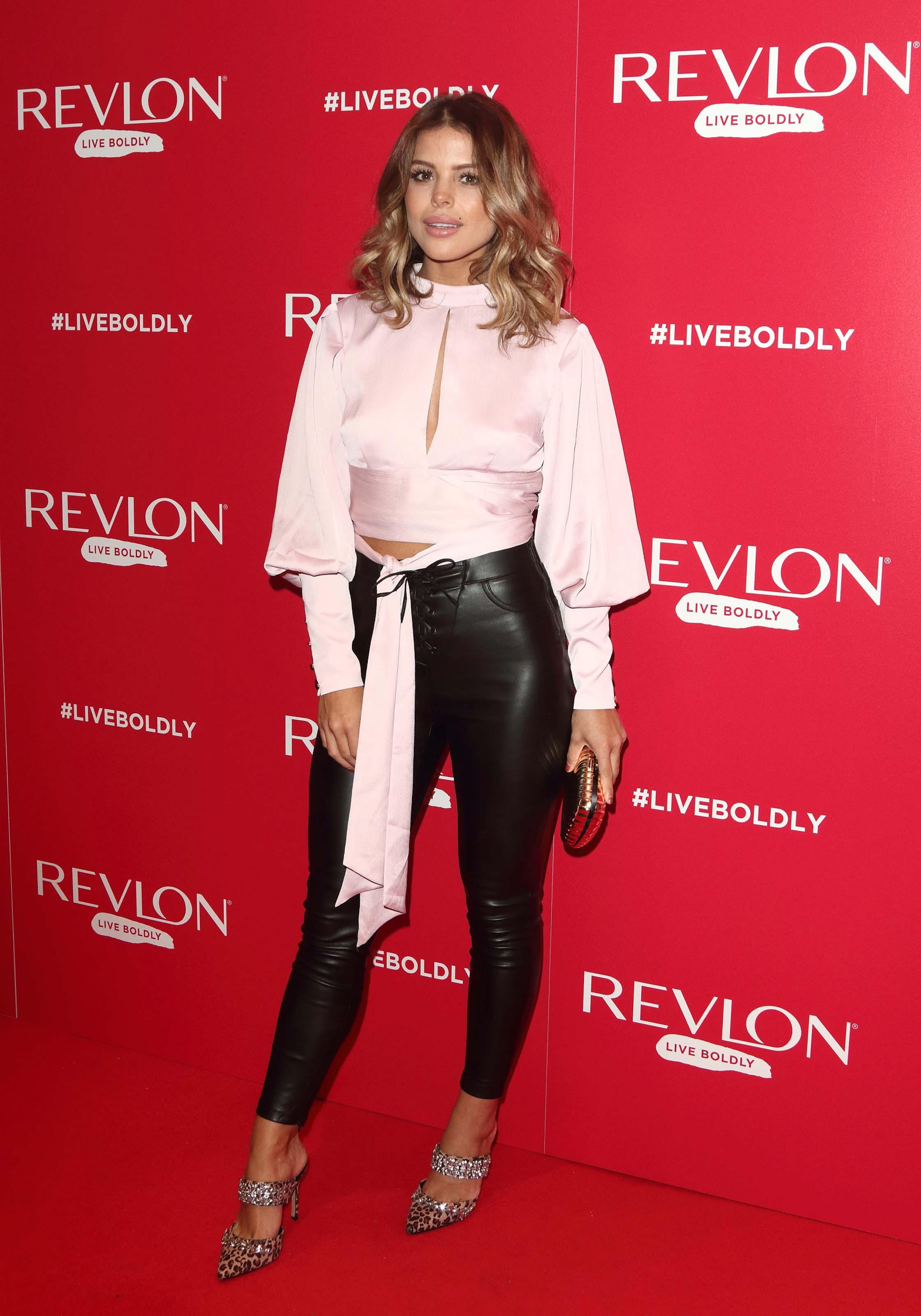 Chloe Lewis attends Adwoa Aboah x Revlon Live Boldly Party