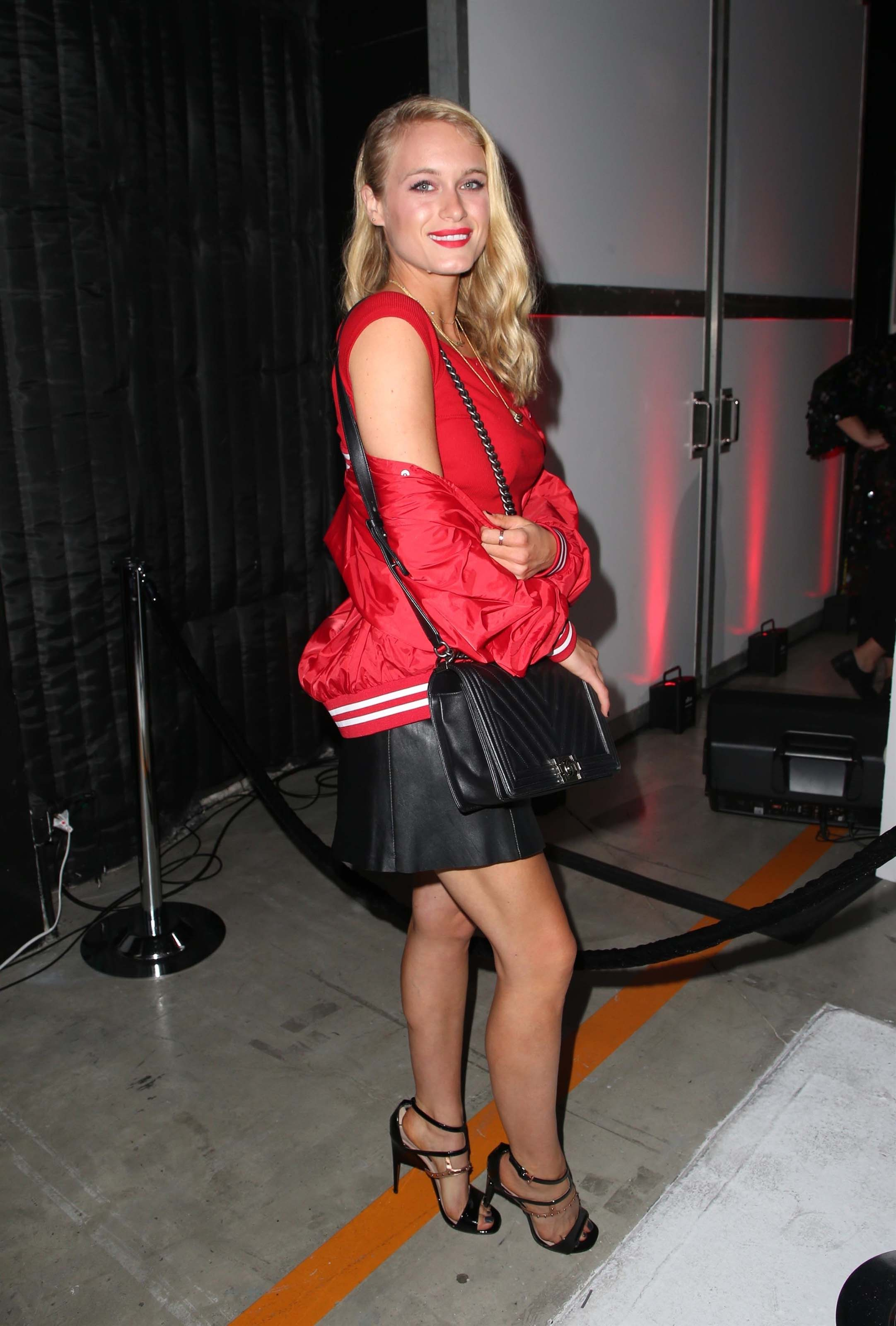 Leven Rambin attends Shiseido Makeup Collection Event