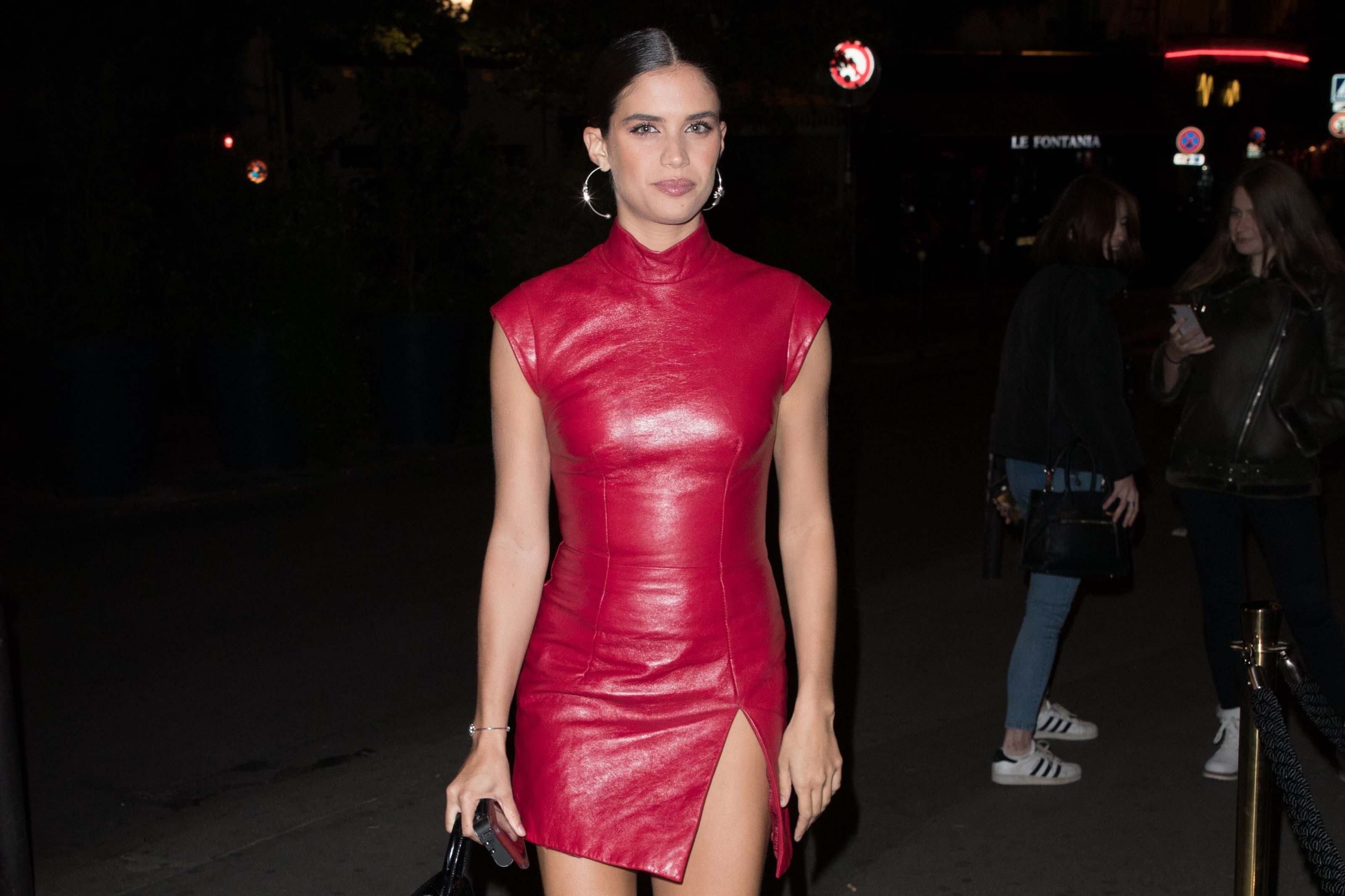Sara Sampaio attends Chrome Hearts party