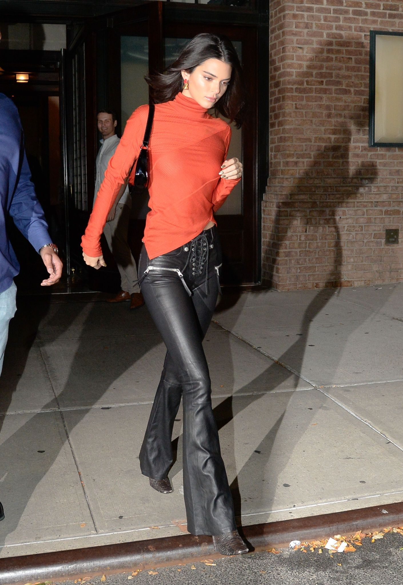 Kendall Jenner leaving The Greenwich Hotel