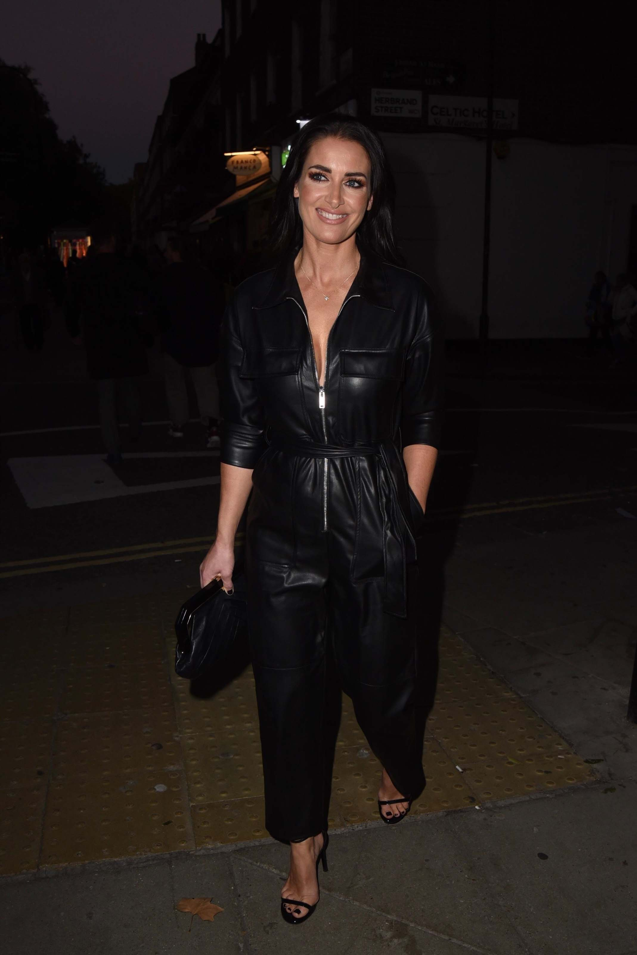 Kirsty Gallacher arriving At The Marie Claire Future Shapers Awards