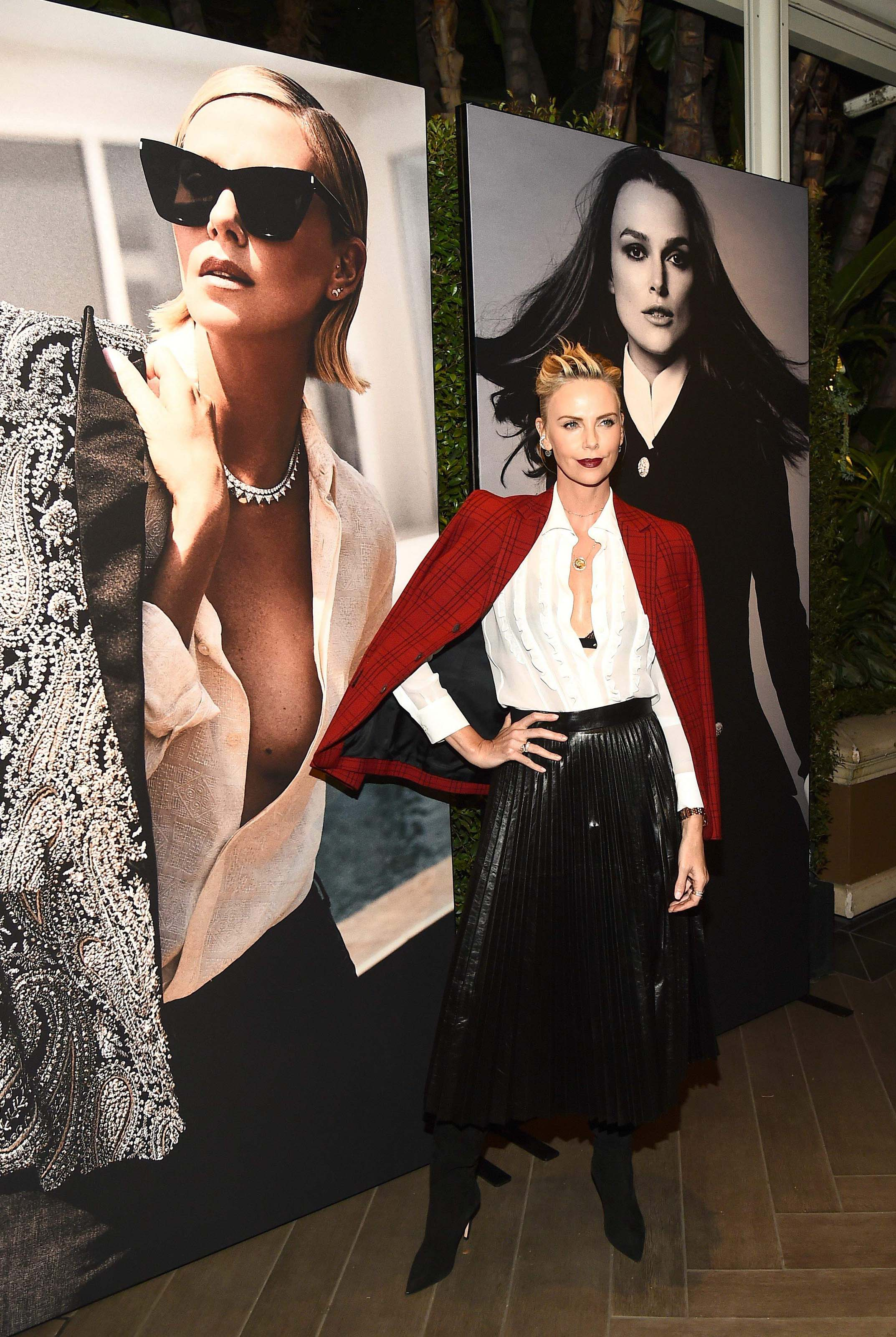 Charlize Theron attends ELLE's 25th Annual Women