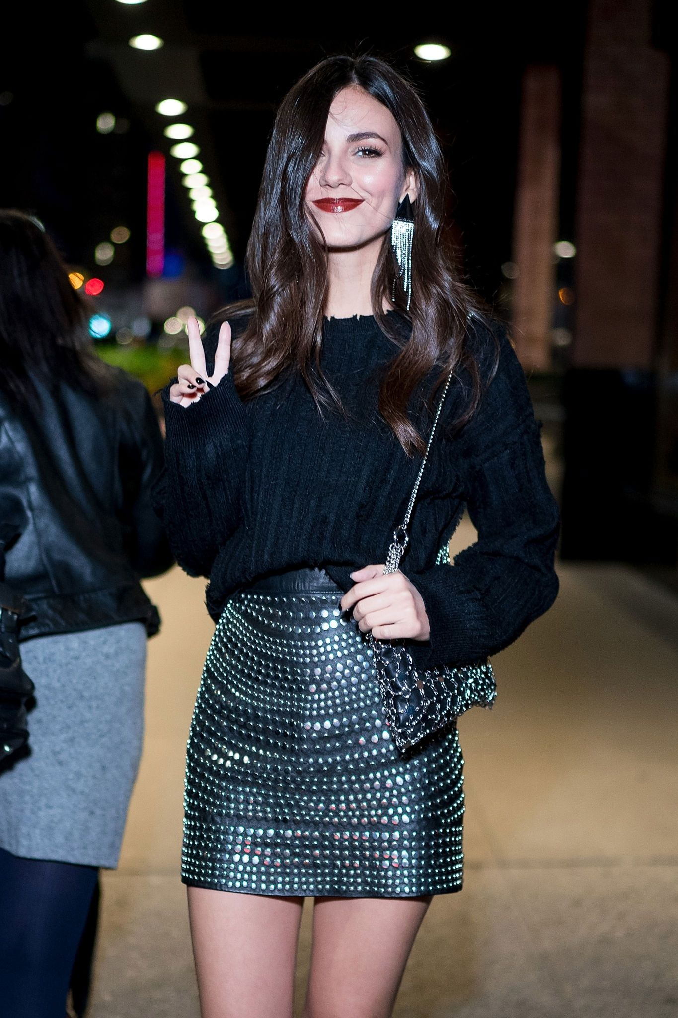 Victoria Justice attends Daniel Wellington celebrates the opening store