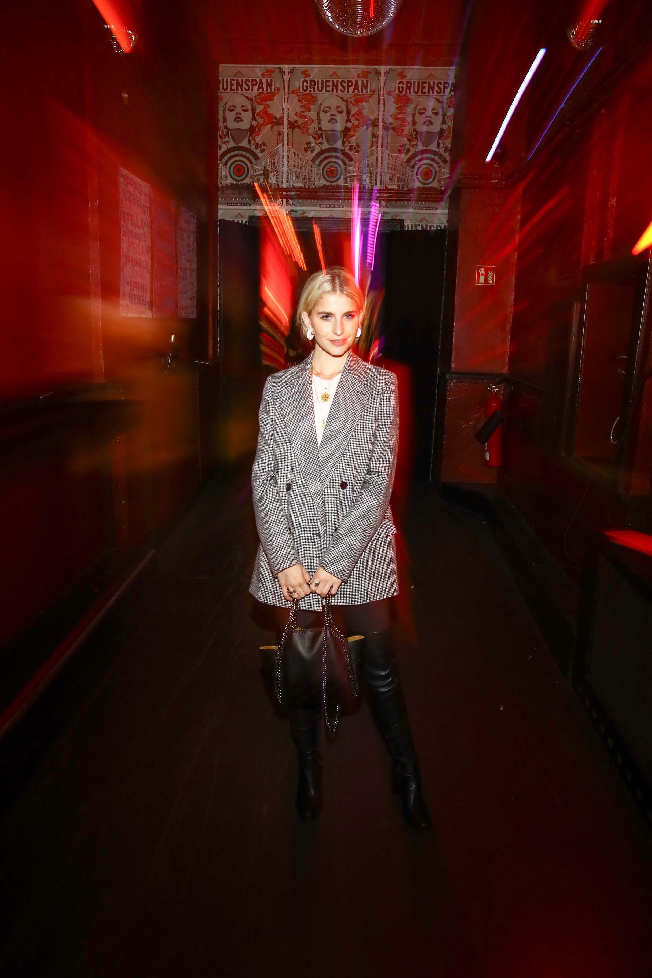 Caroline Daur attends Stella McCartney X UZWEI Spring/Summer