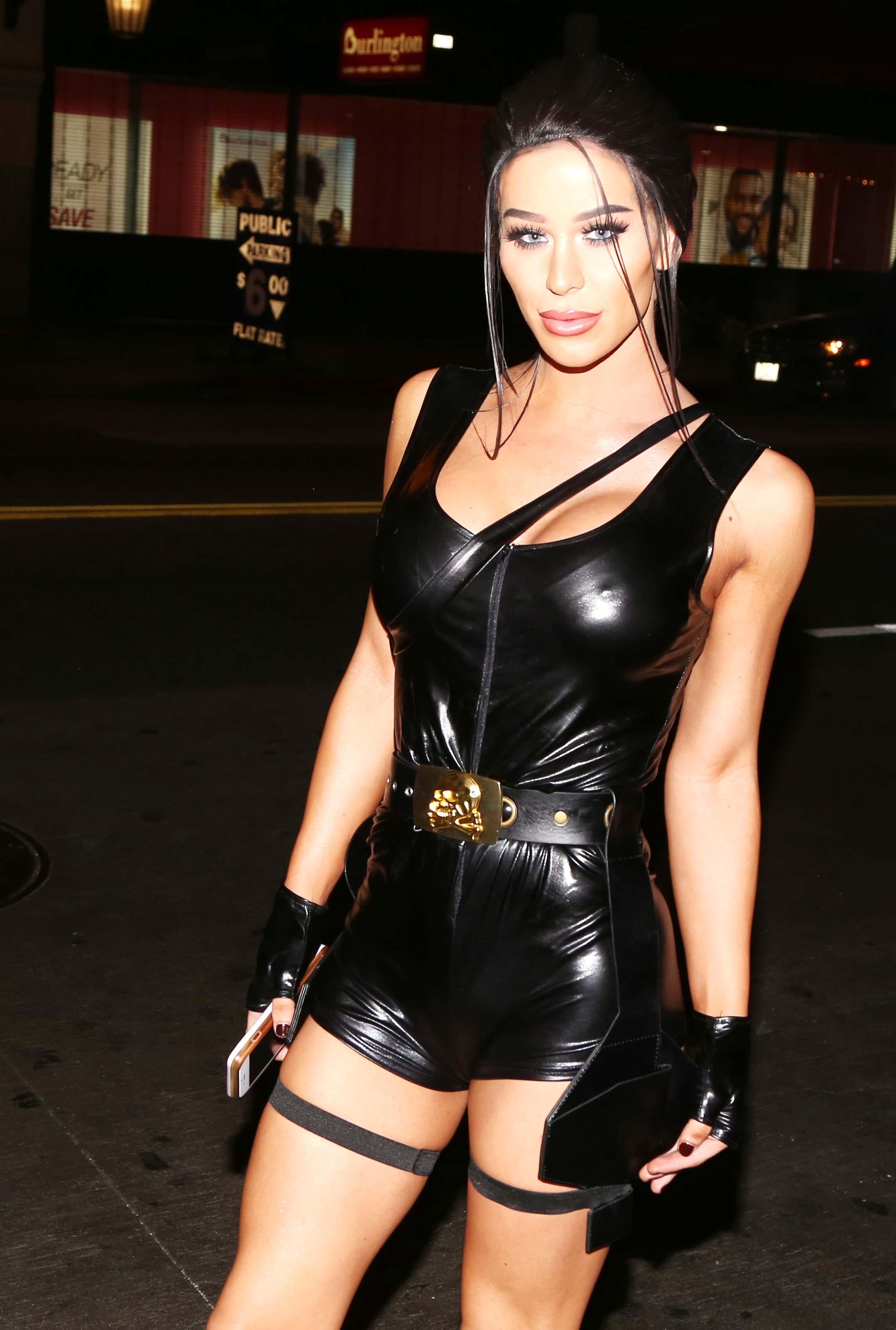Gigi Gorgeous attends UNICEF Masquerade Ball