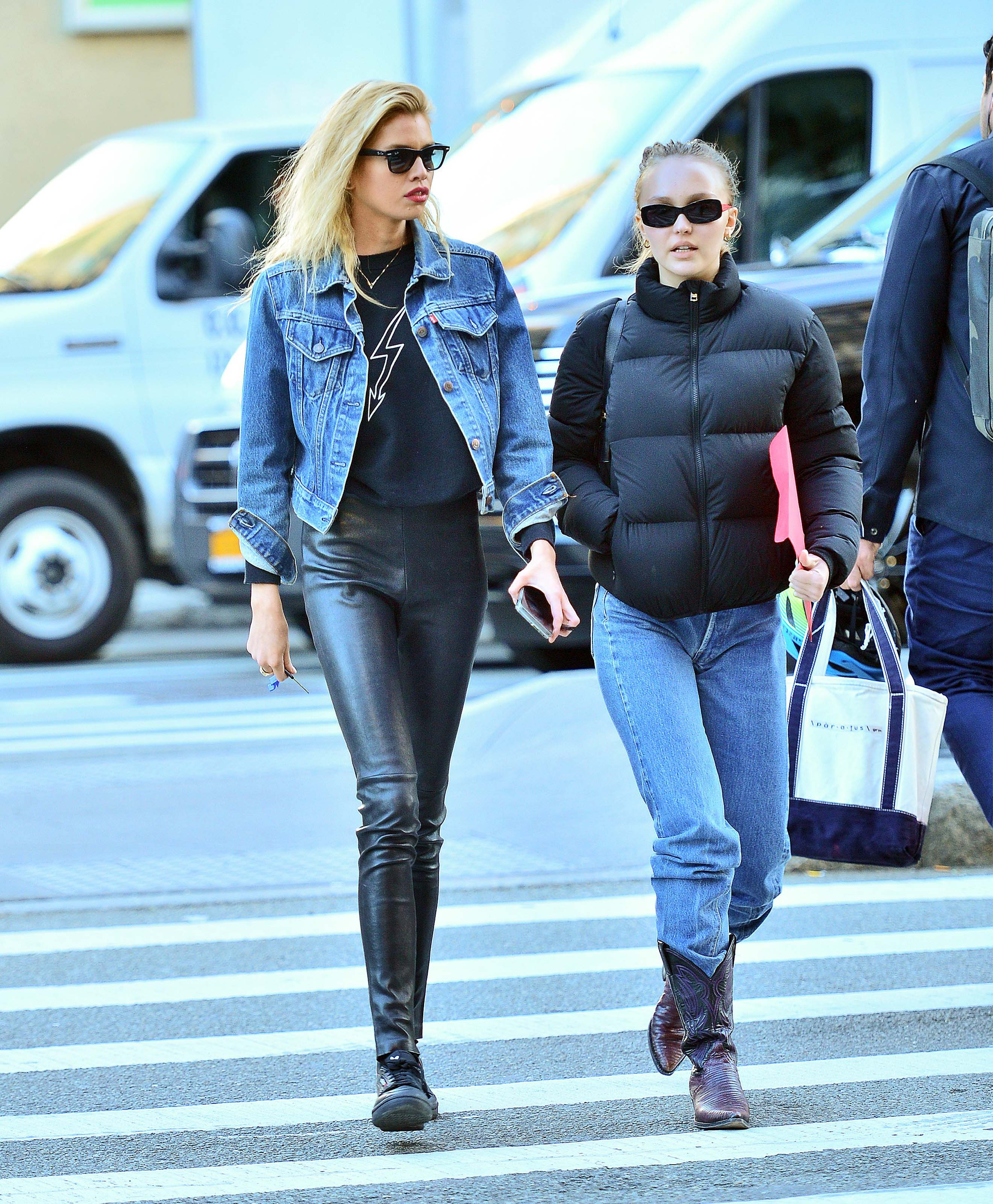 Stella Maxwell out and about in New York