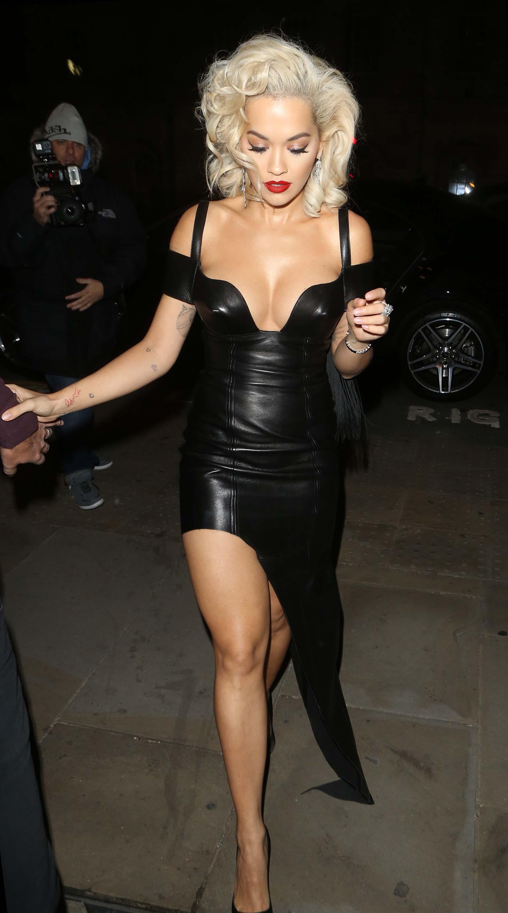 Rita Ora arrives at The UNICEF halloween Ball