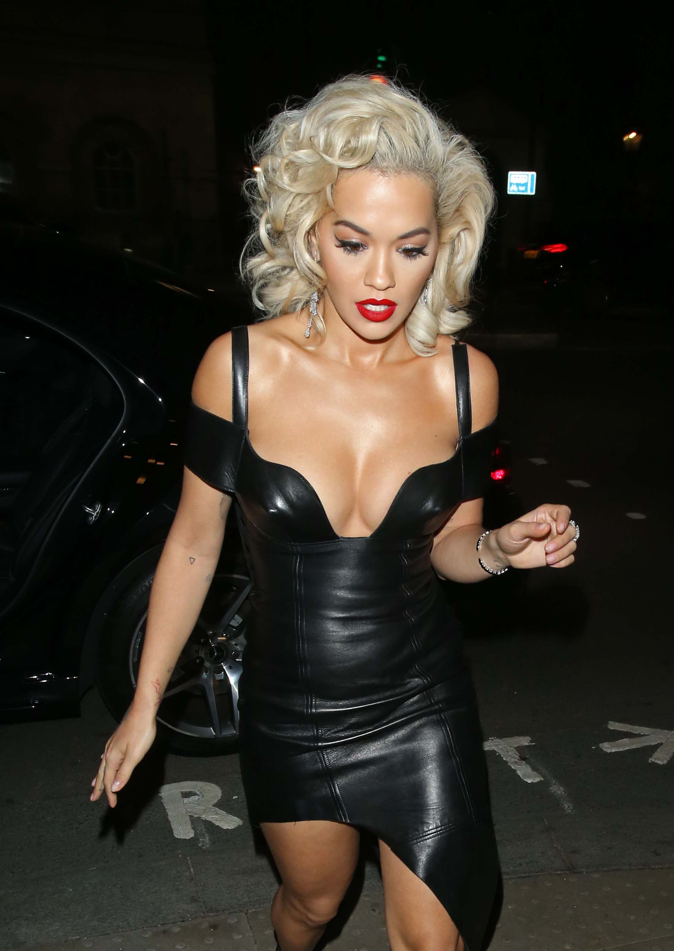 Rita Ora arrives at The UNICEF halloween Ball