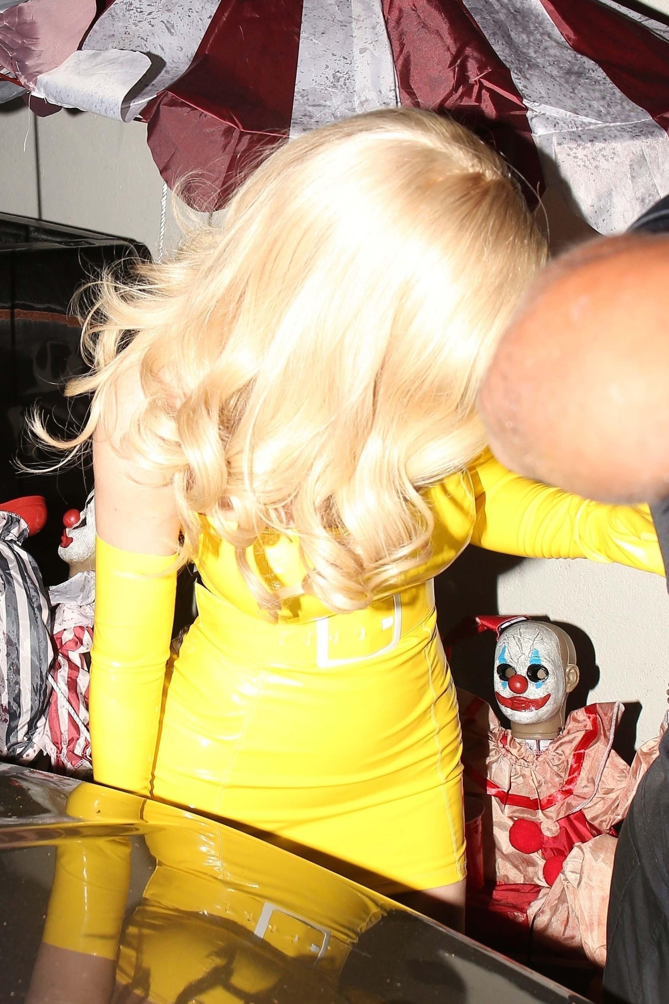 Kylie Jenner seen at Delilah for Travis Scott's Halloween bash