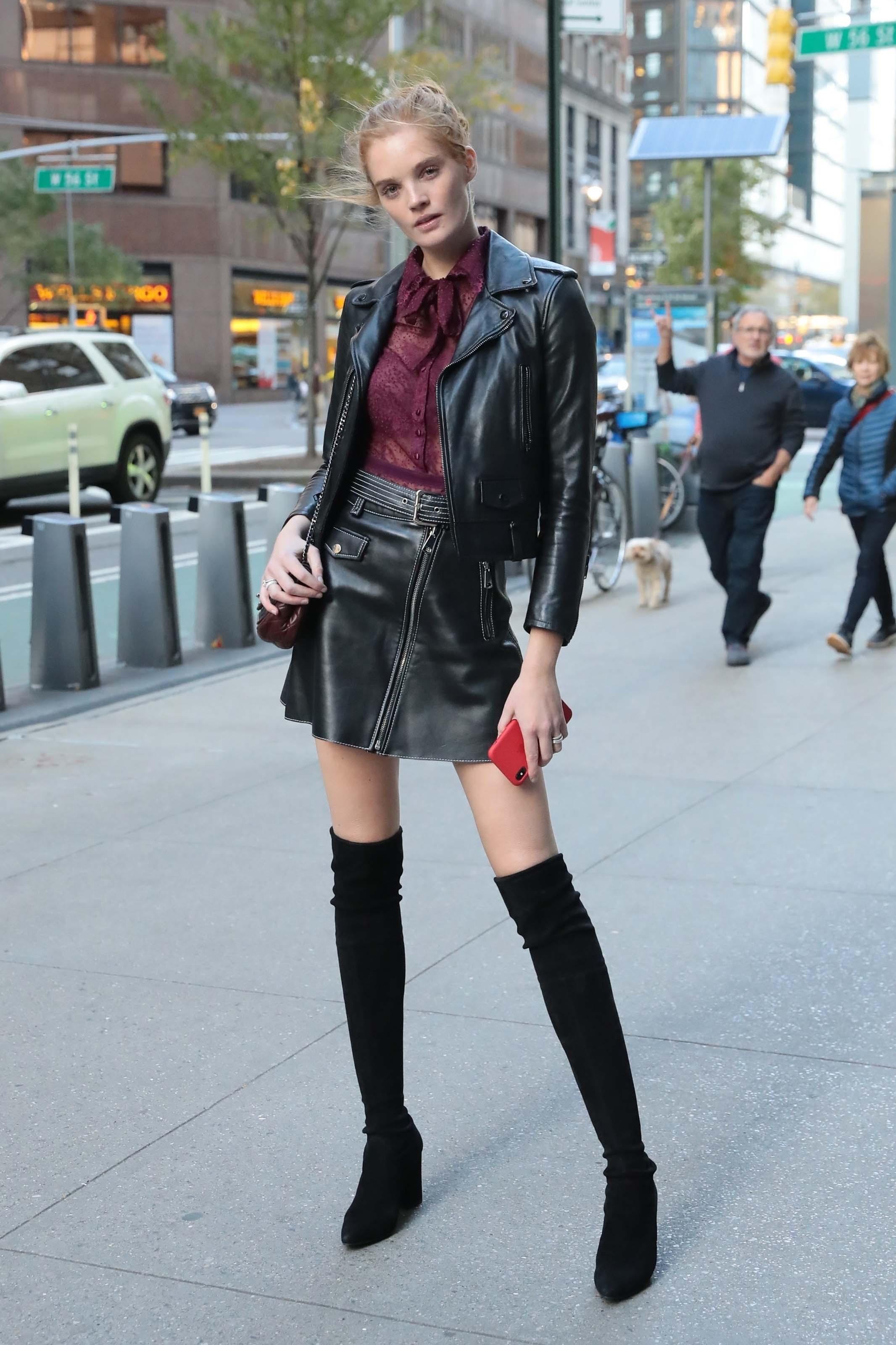 Alexina Graham attends Victoria's Secret Models
