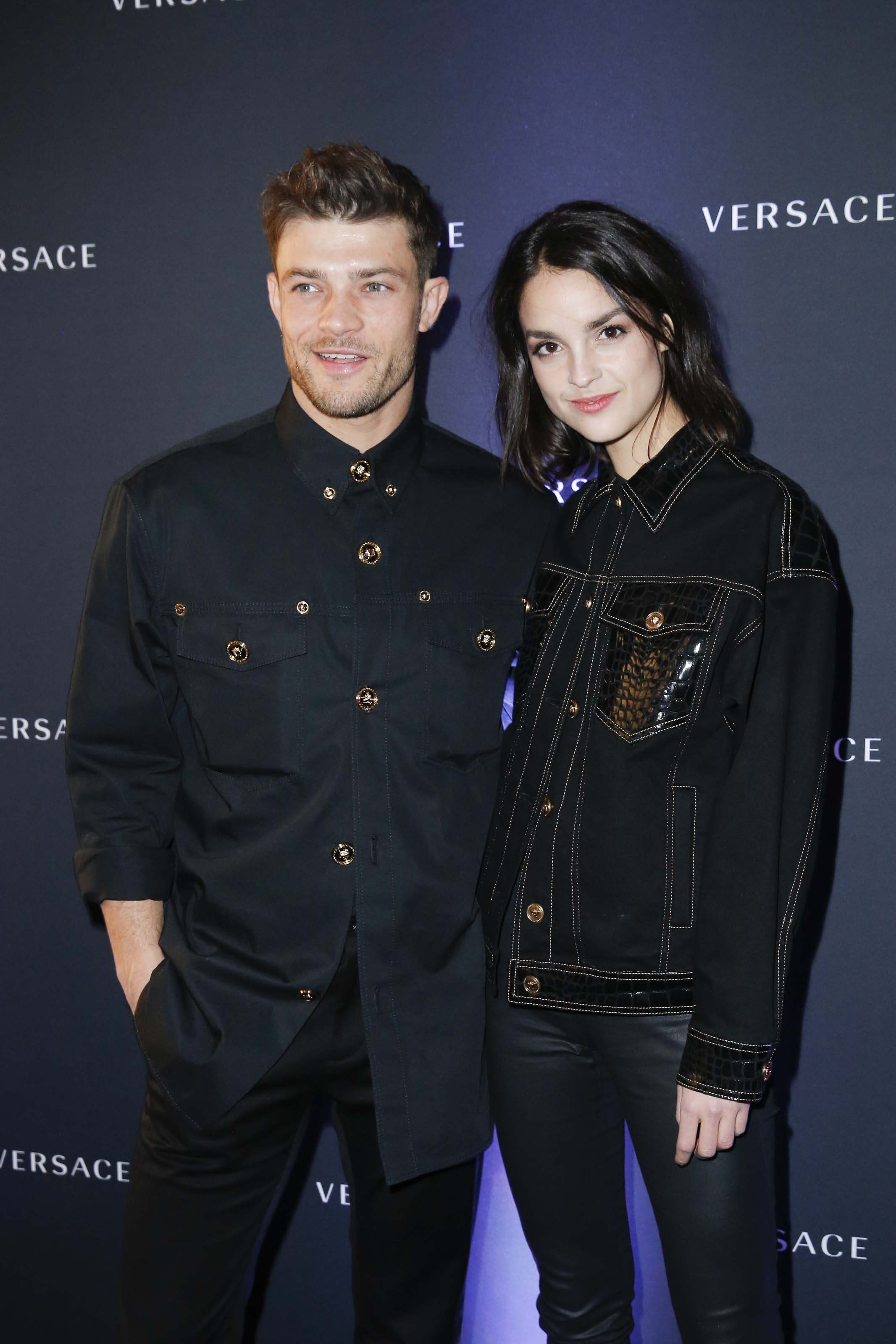 Luise Befort attends Versace Cocktail