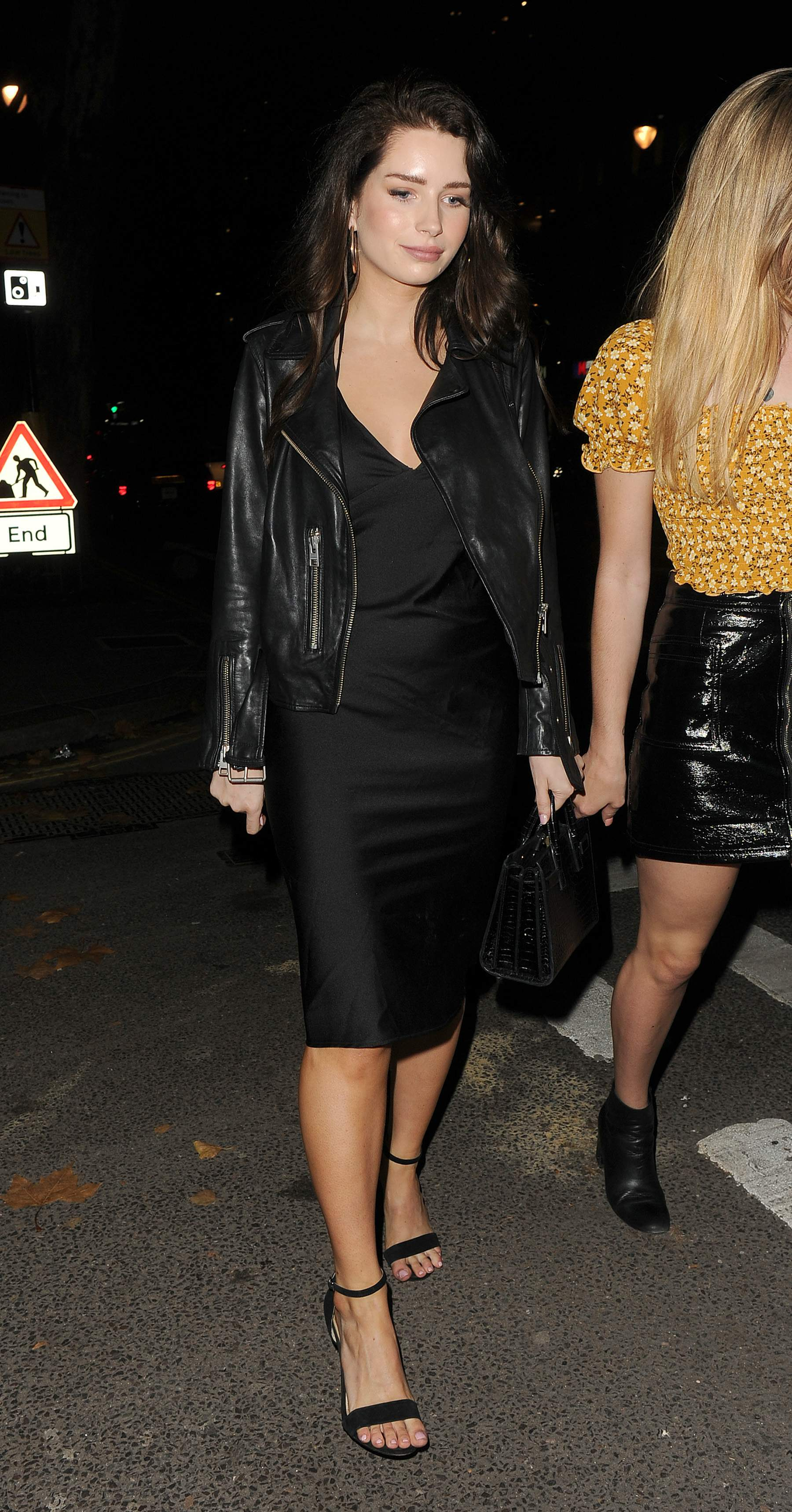 Lottie Moss & Ella Ross out and about in London