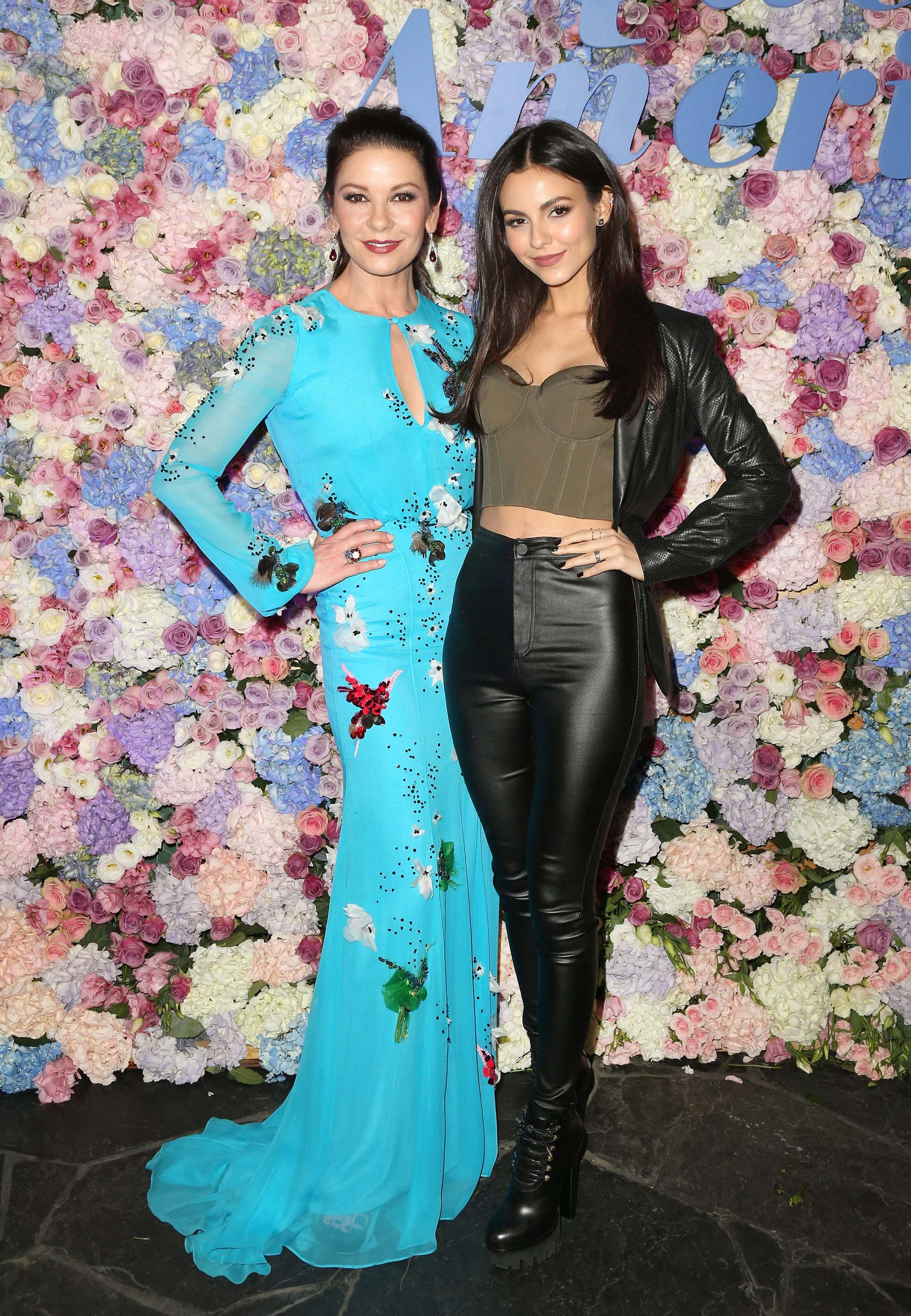 Victoria Justice attends Queen America Premiere