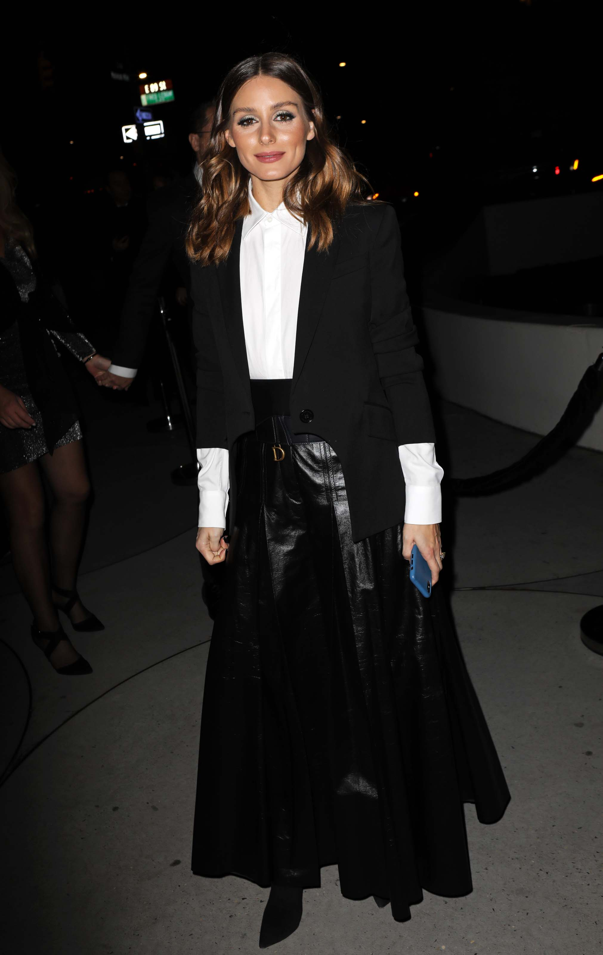 Olivia Palermo attends 2018 Guggenheim International Gala Pre-Party
