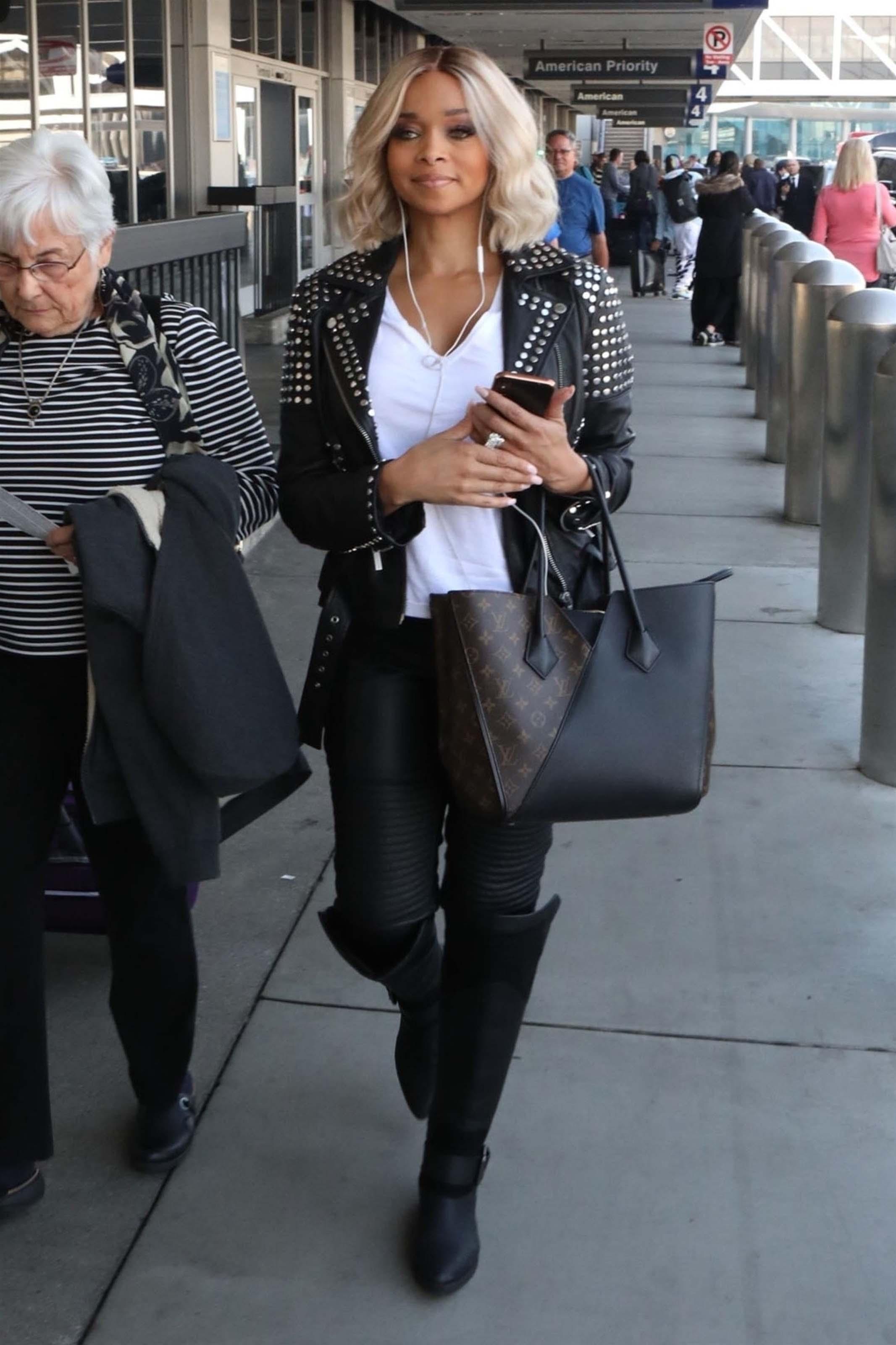 Patricia Southall at LAX airport