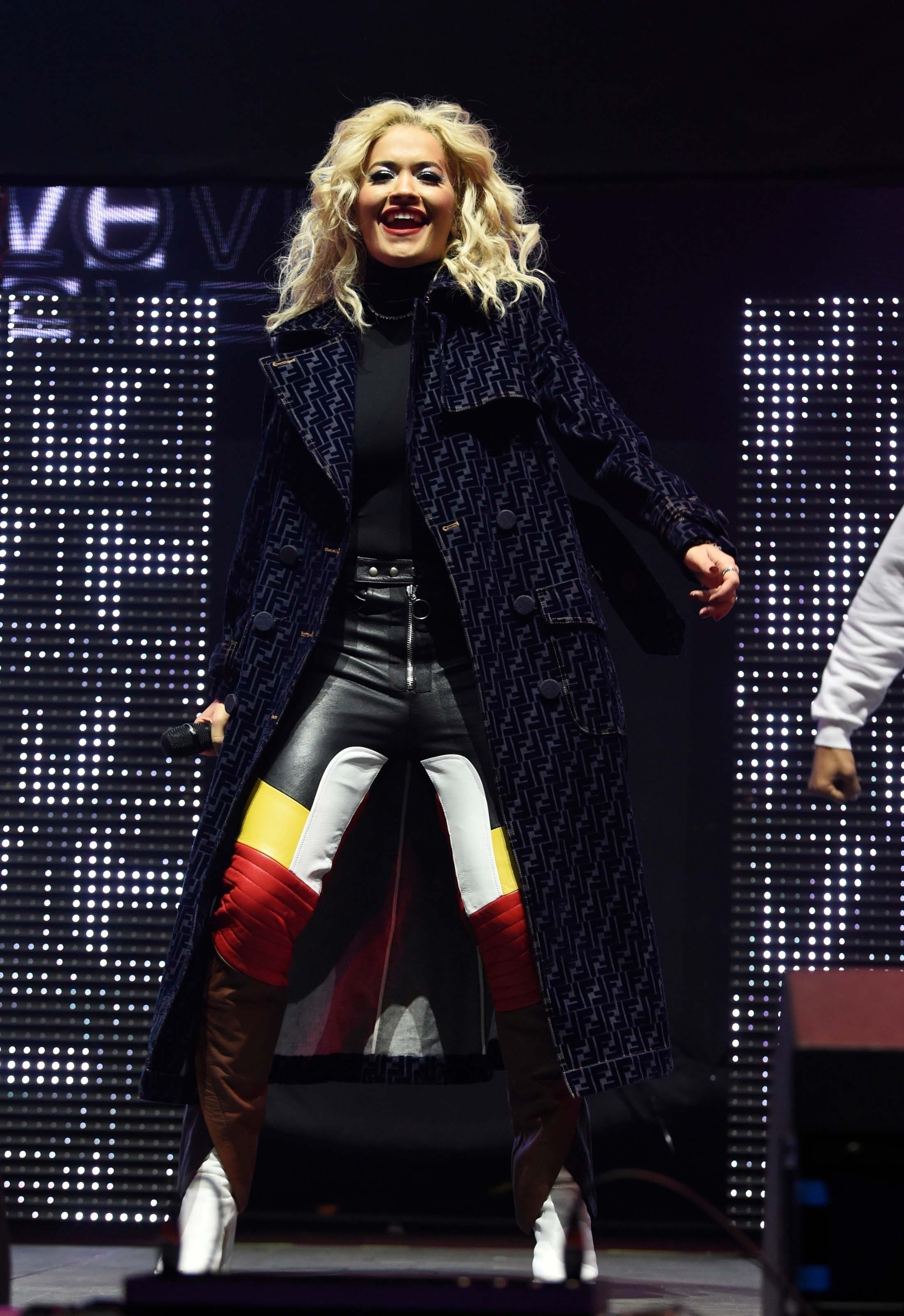 Rita Ora performs live at Radio City Hits Live