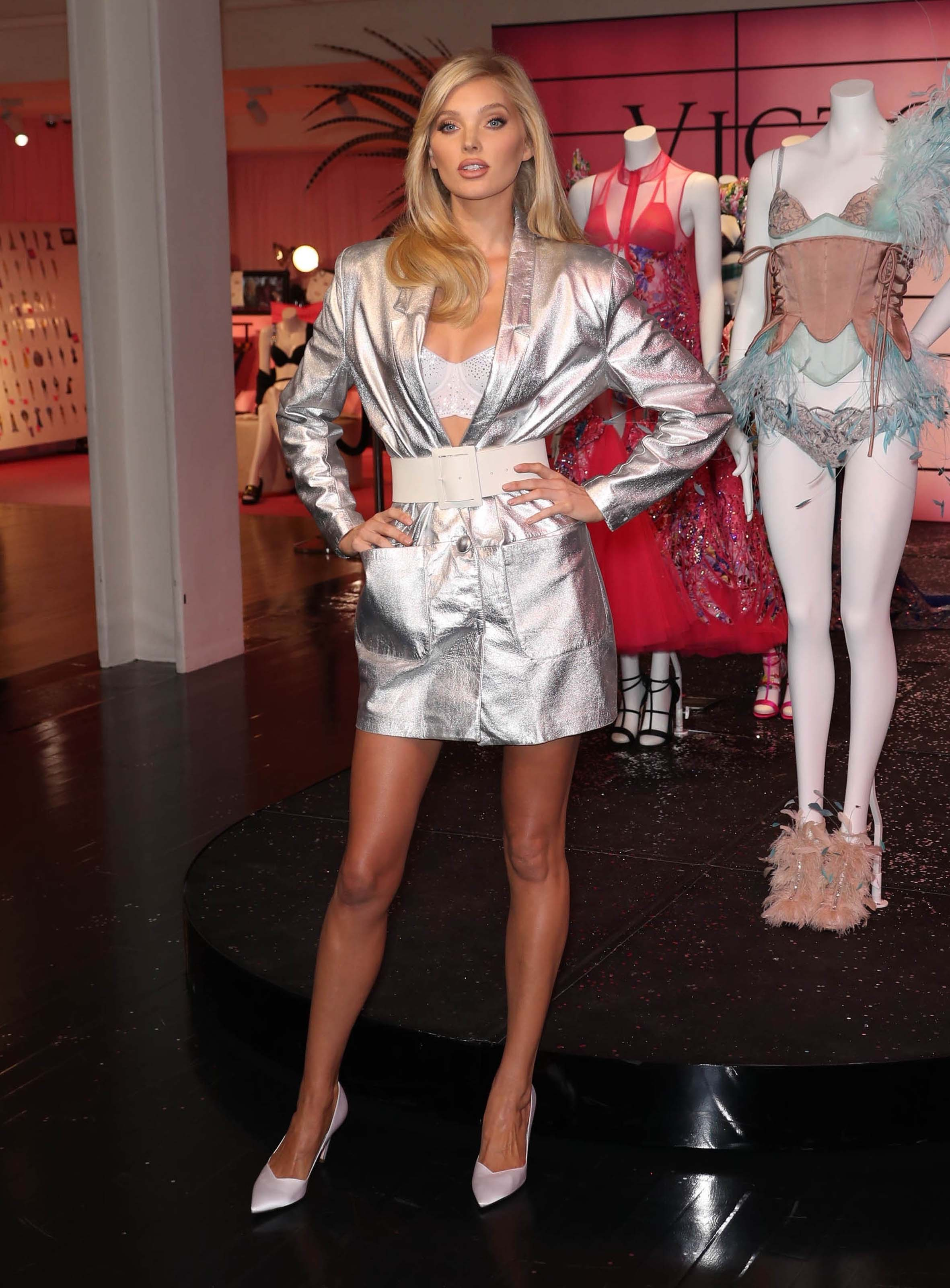 Elsa Hosk attends In New York City to Celebrate the Victoria Secret Fashion Show