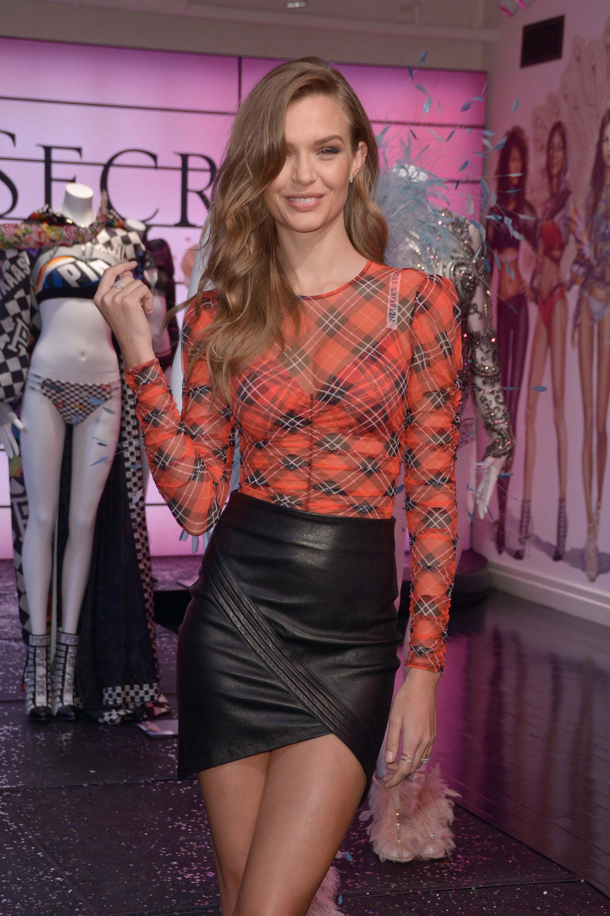 Josephine Skriver attends In New York City to Celebrate the Victoria Secret Fashion Show