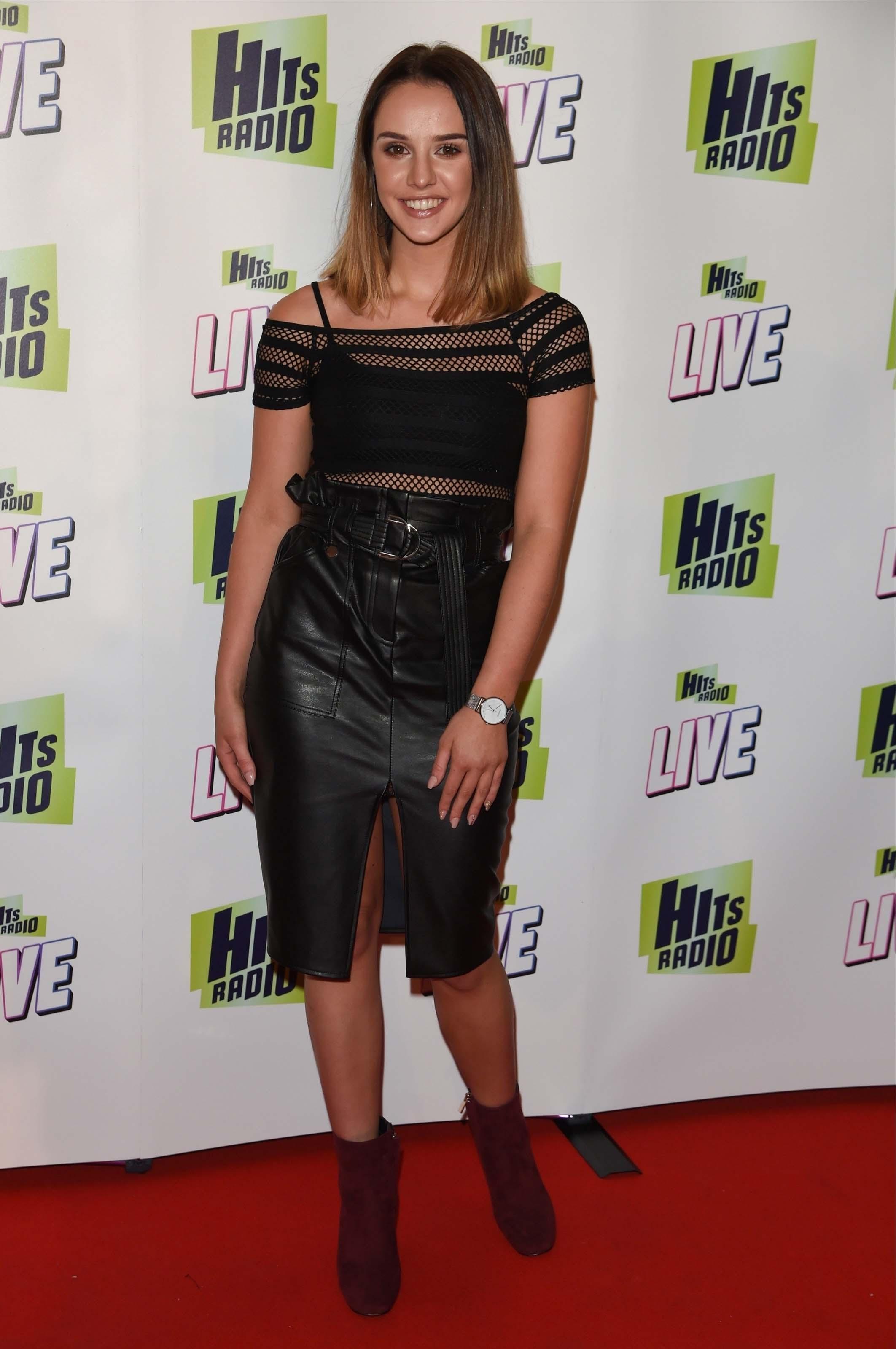 Mollie Winnard attends Hits Radio Live
