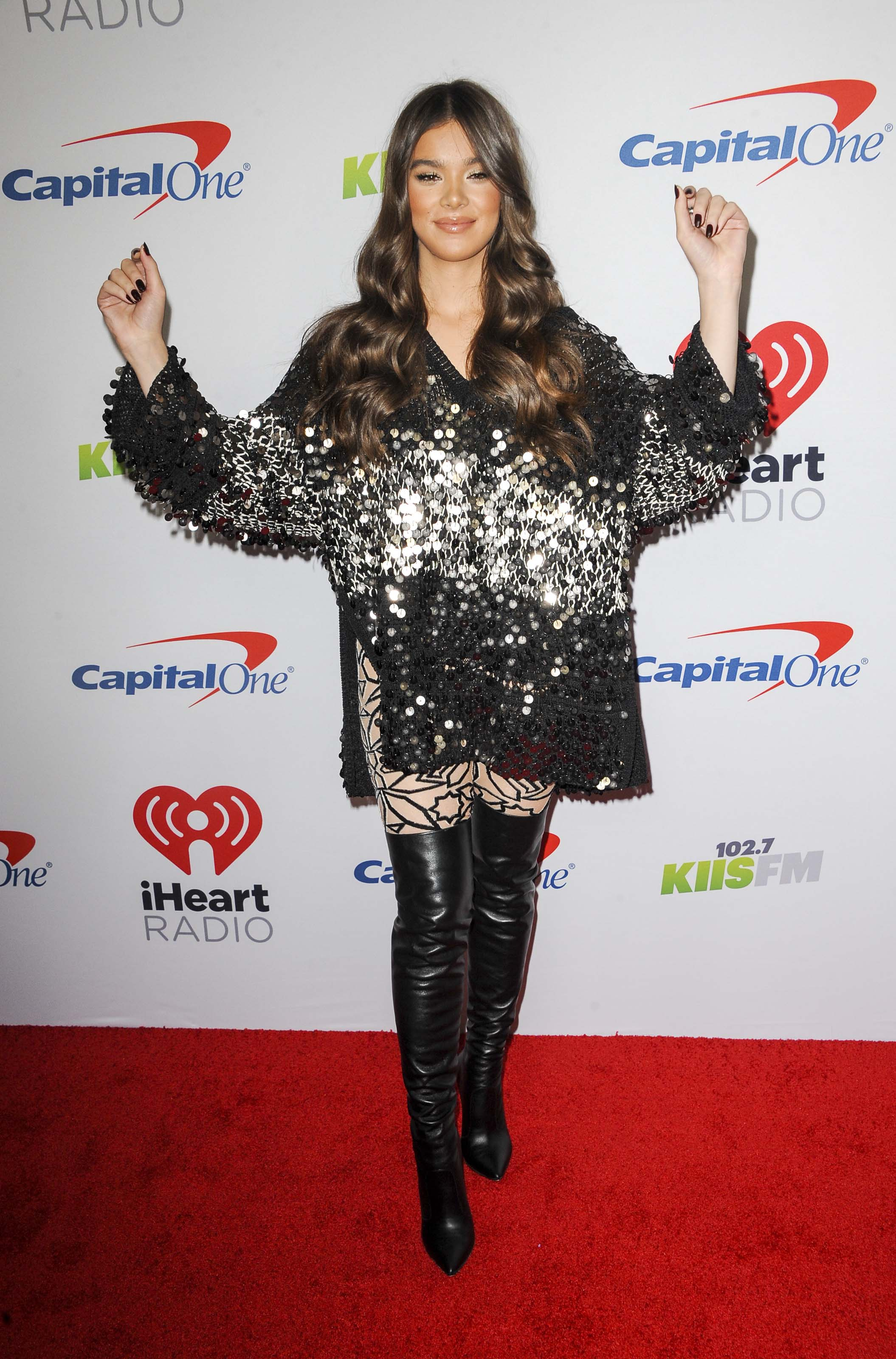 Hailee Steinfeld attends The KIIS FM Jingle Ball