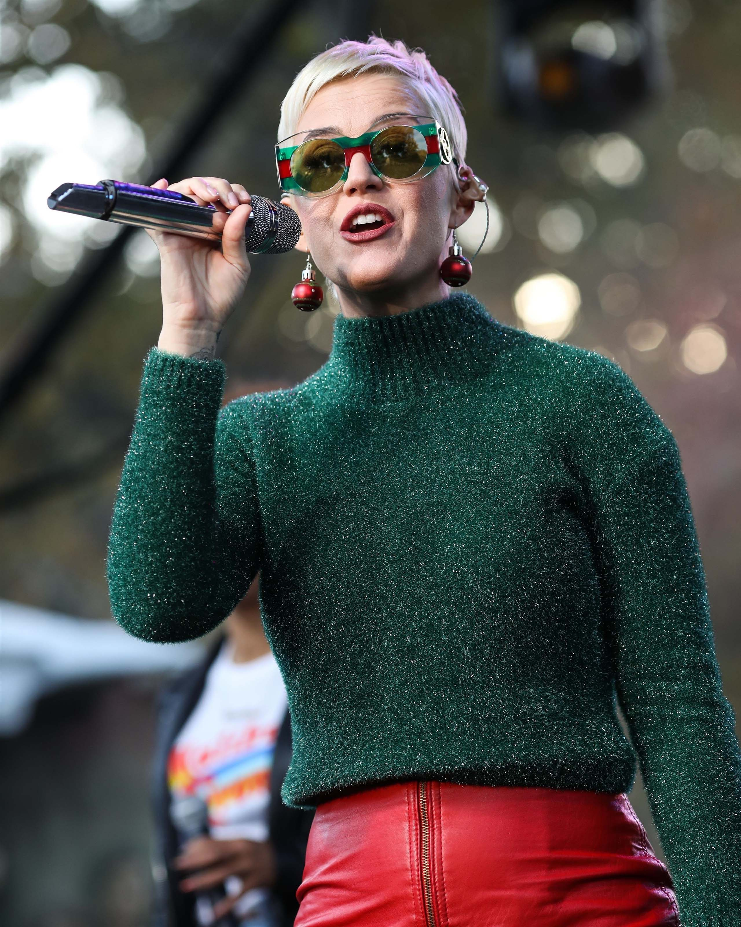 Katy Perry performs onstage at the One Love Malibu Festival Benefit Concert