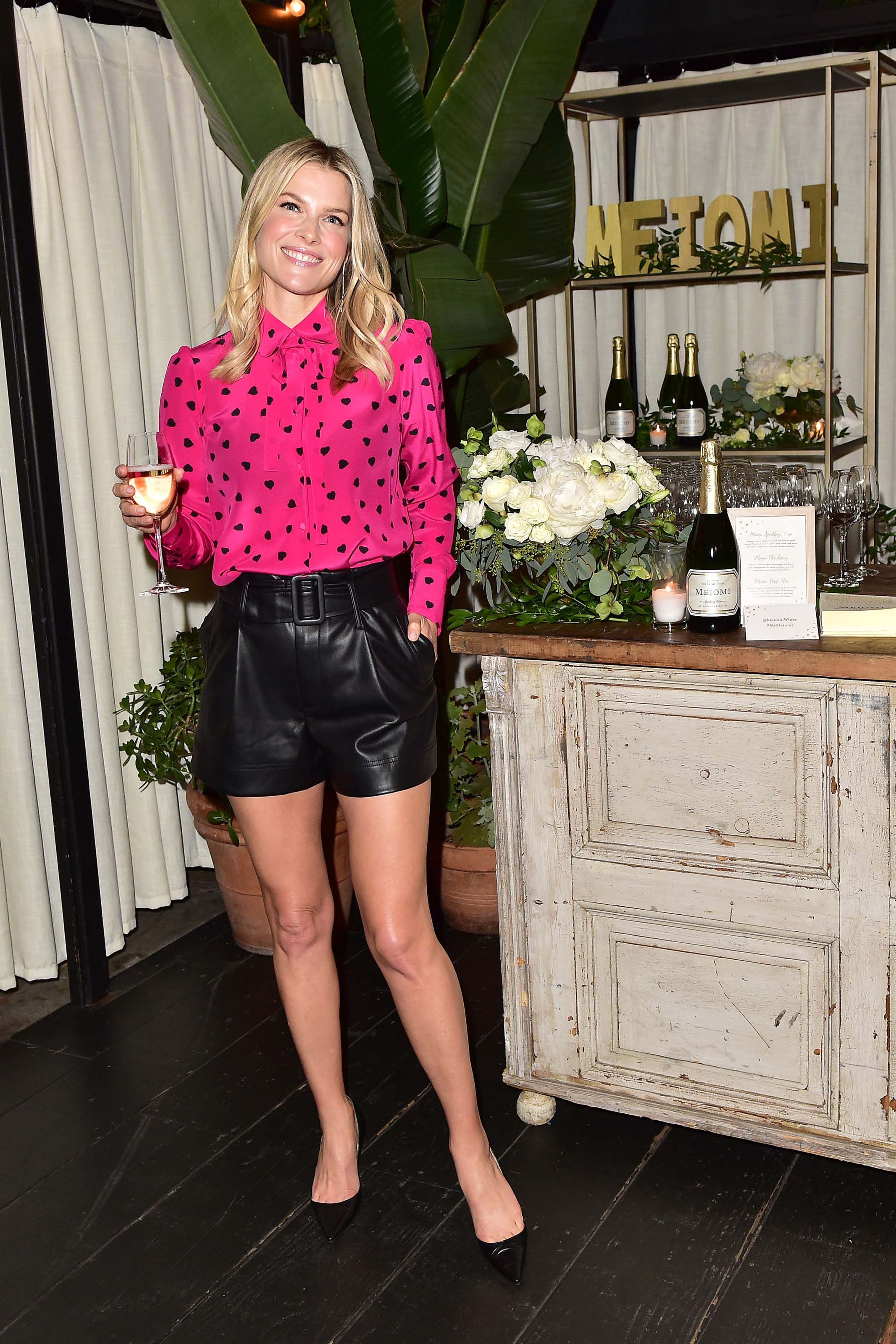 Ali Larter attends Meiomi Sparkling Wine Launch Event