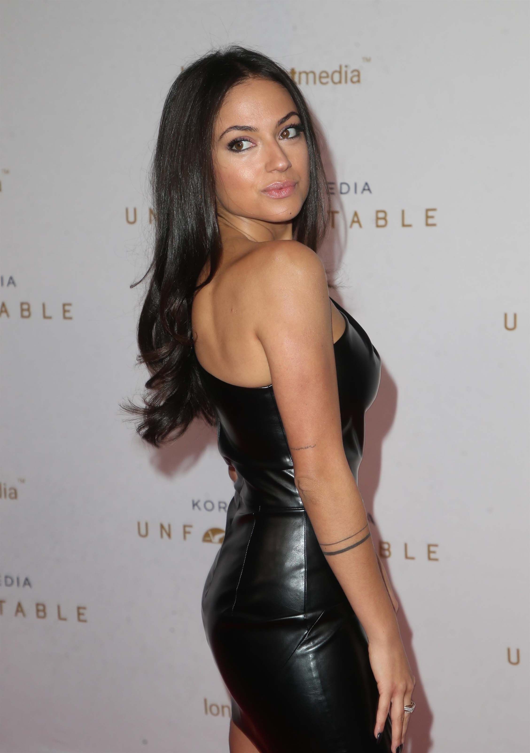 Inanna Sarkis attends Unforgettable Gala