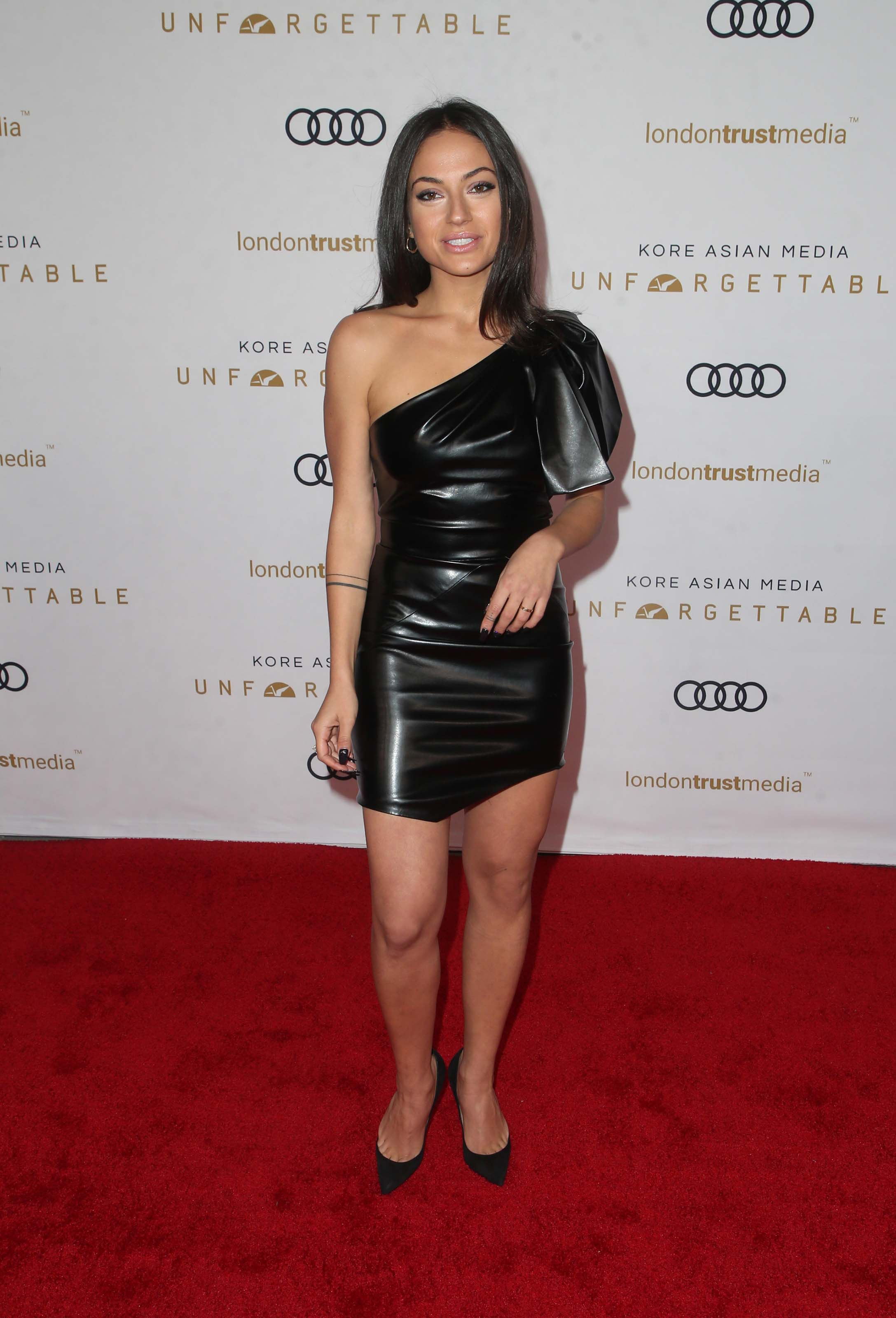 Inanna Sarkis attends Unforgettable Gala