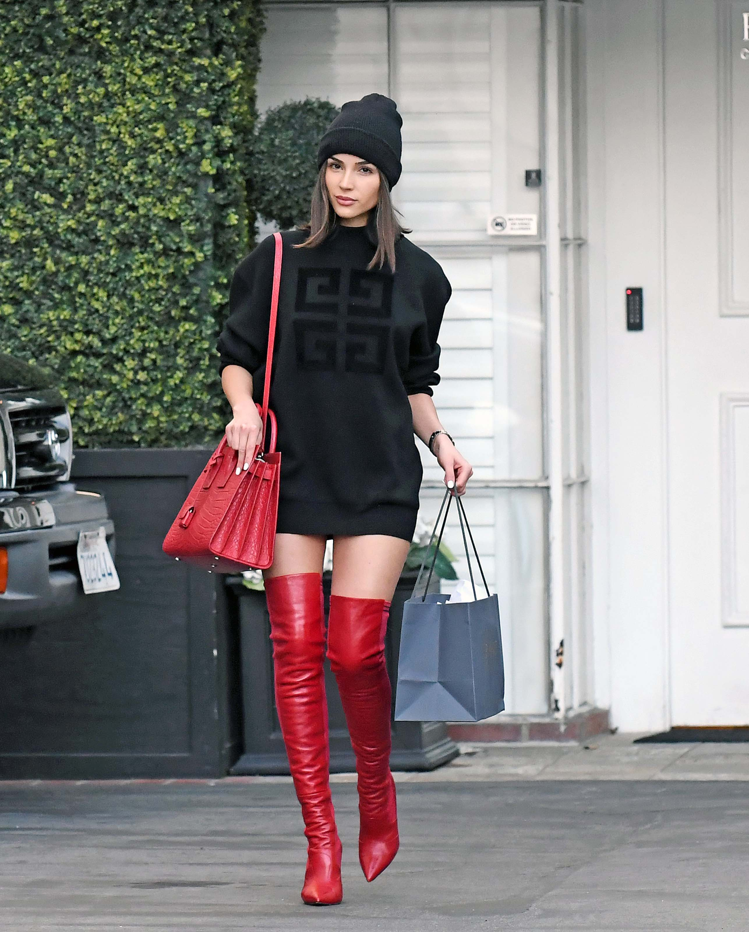 Olivia Culpo at Epione in Beverly Hills