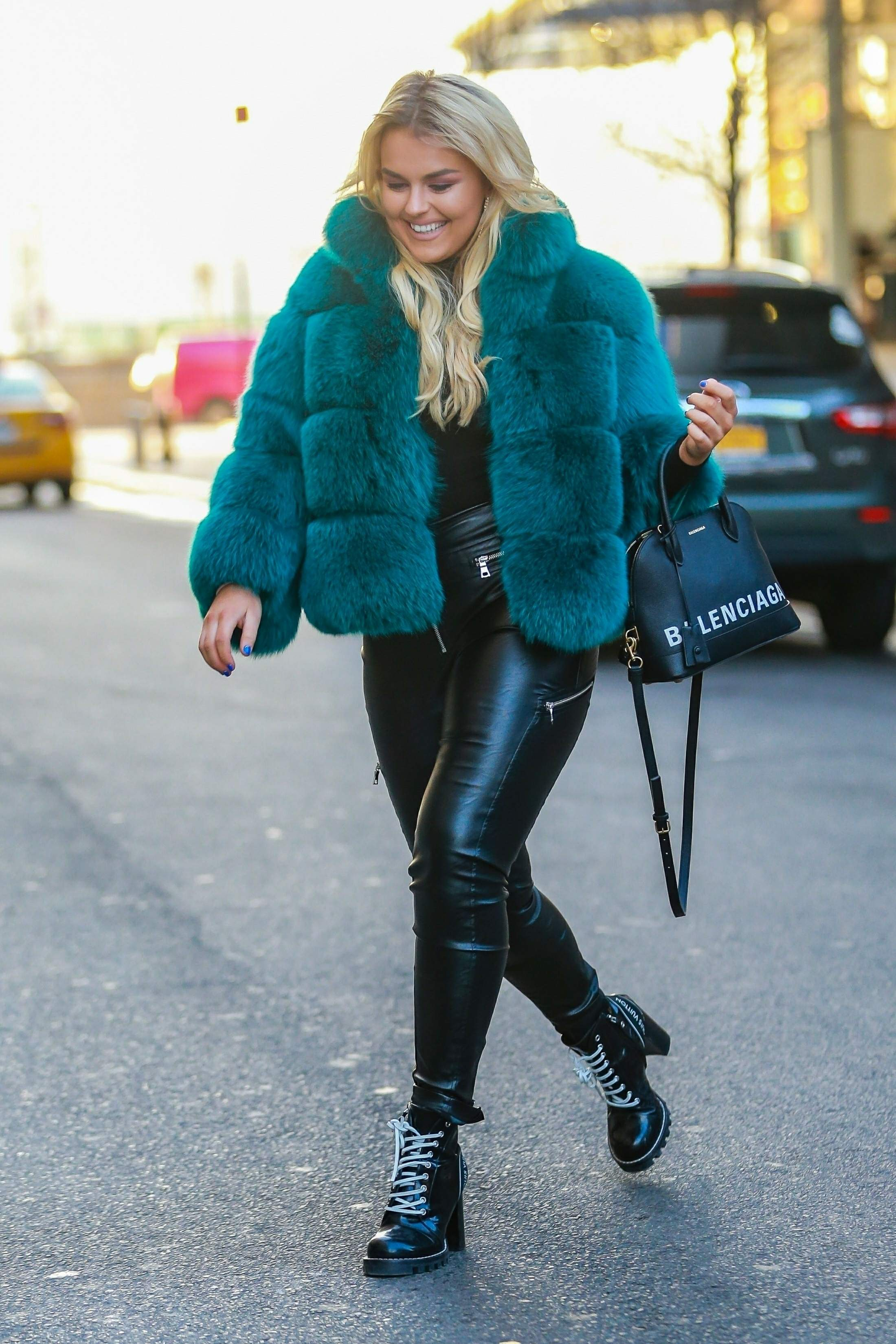 Tallia Storm out in NYC