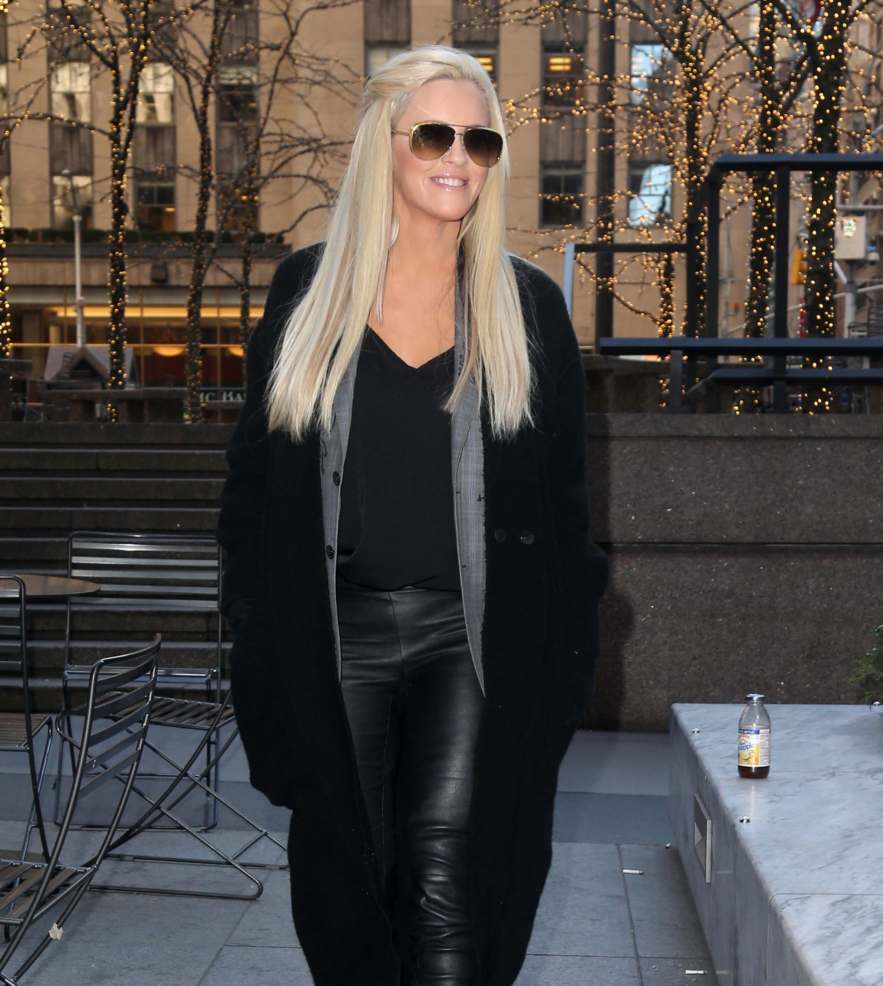 Jenny McCarthy out in NYC