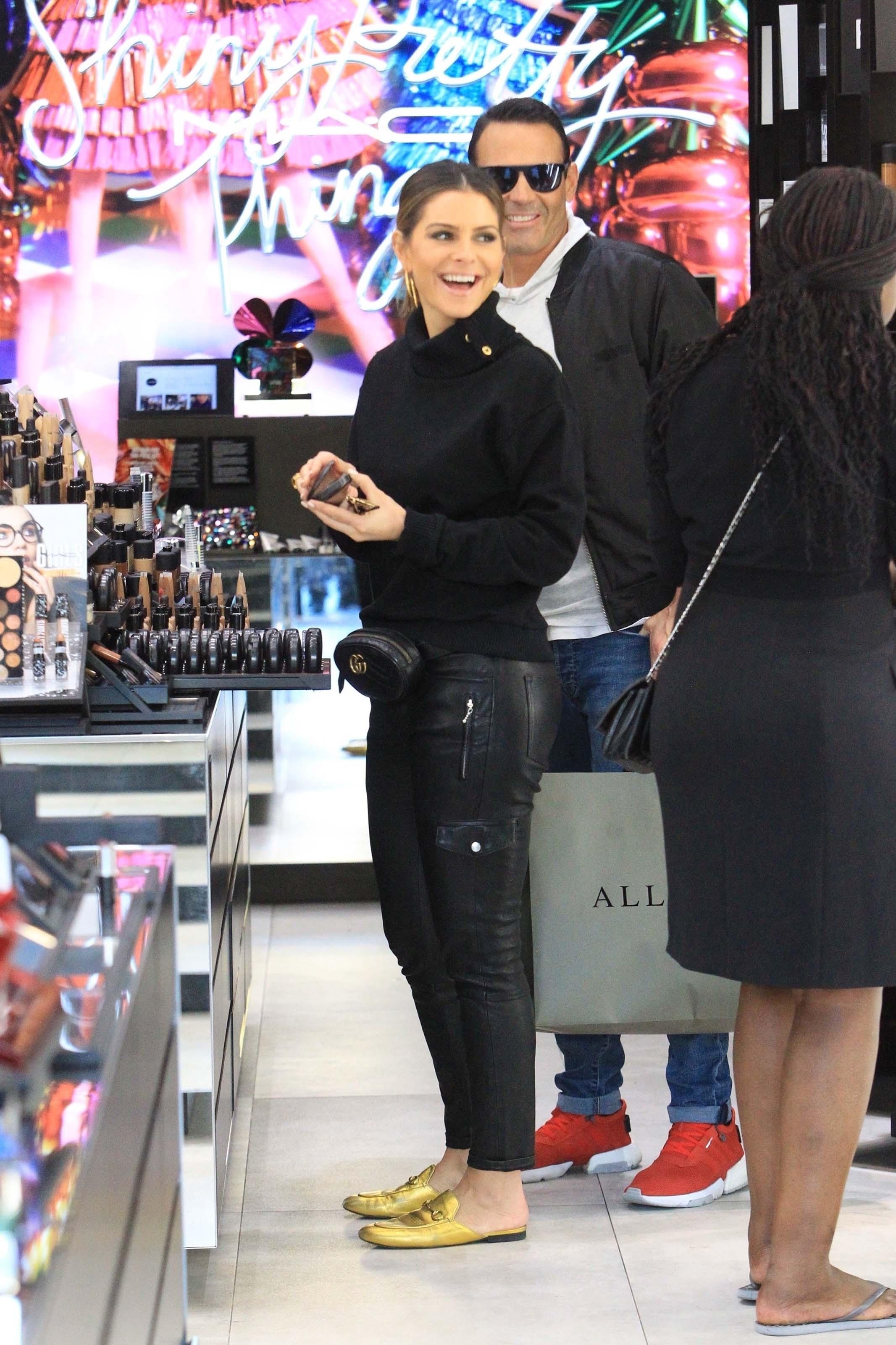 Maria Menounos shopping in BH