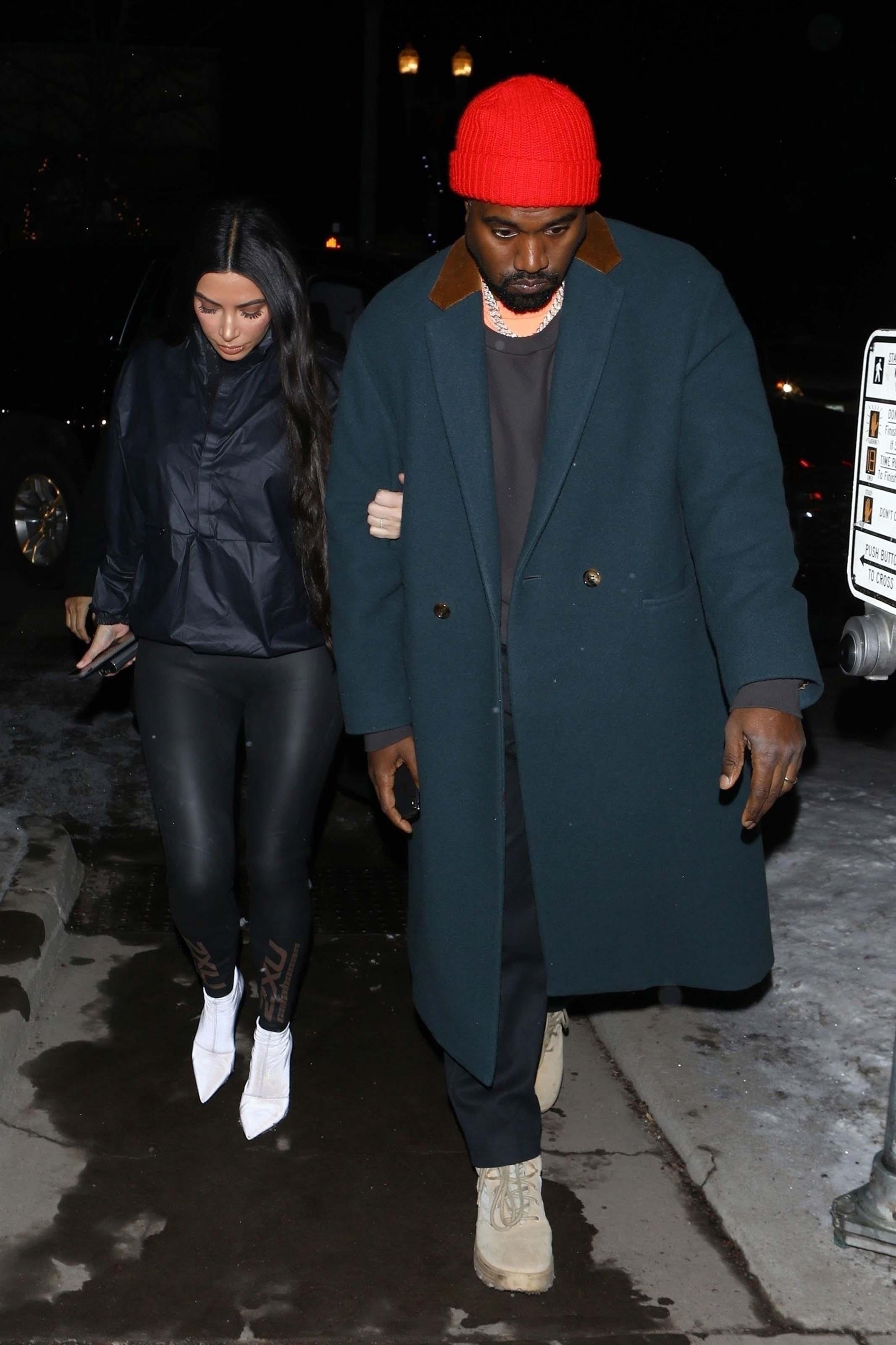 Kim & Kourtney Kardashian and Sofia Richie at Matsuhisa restaurant