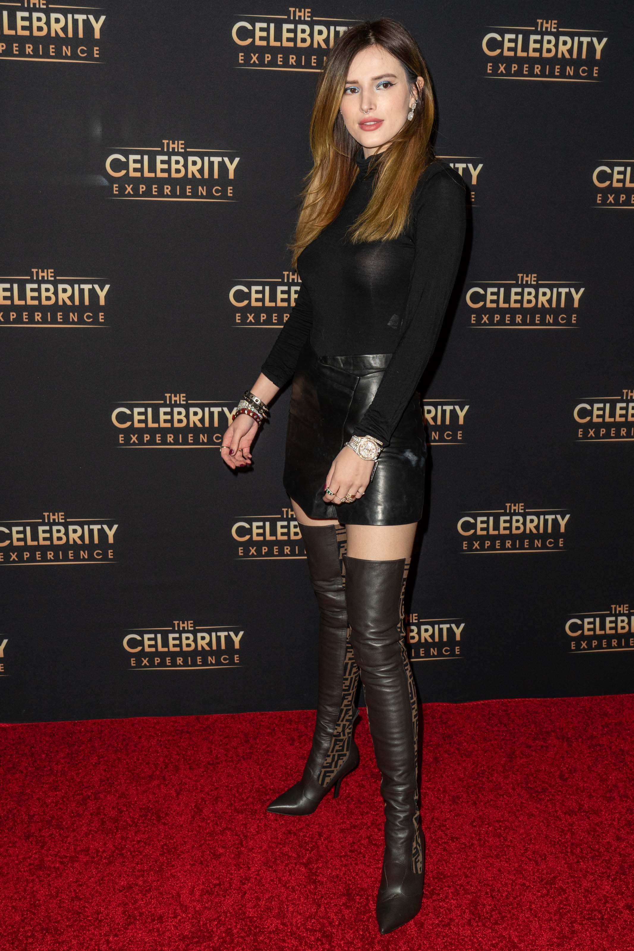 Bella Thorne attends The Celebrity Experience