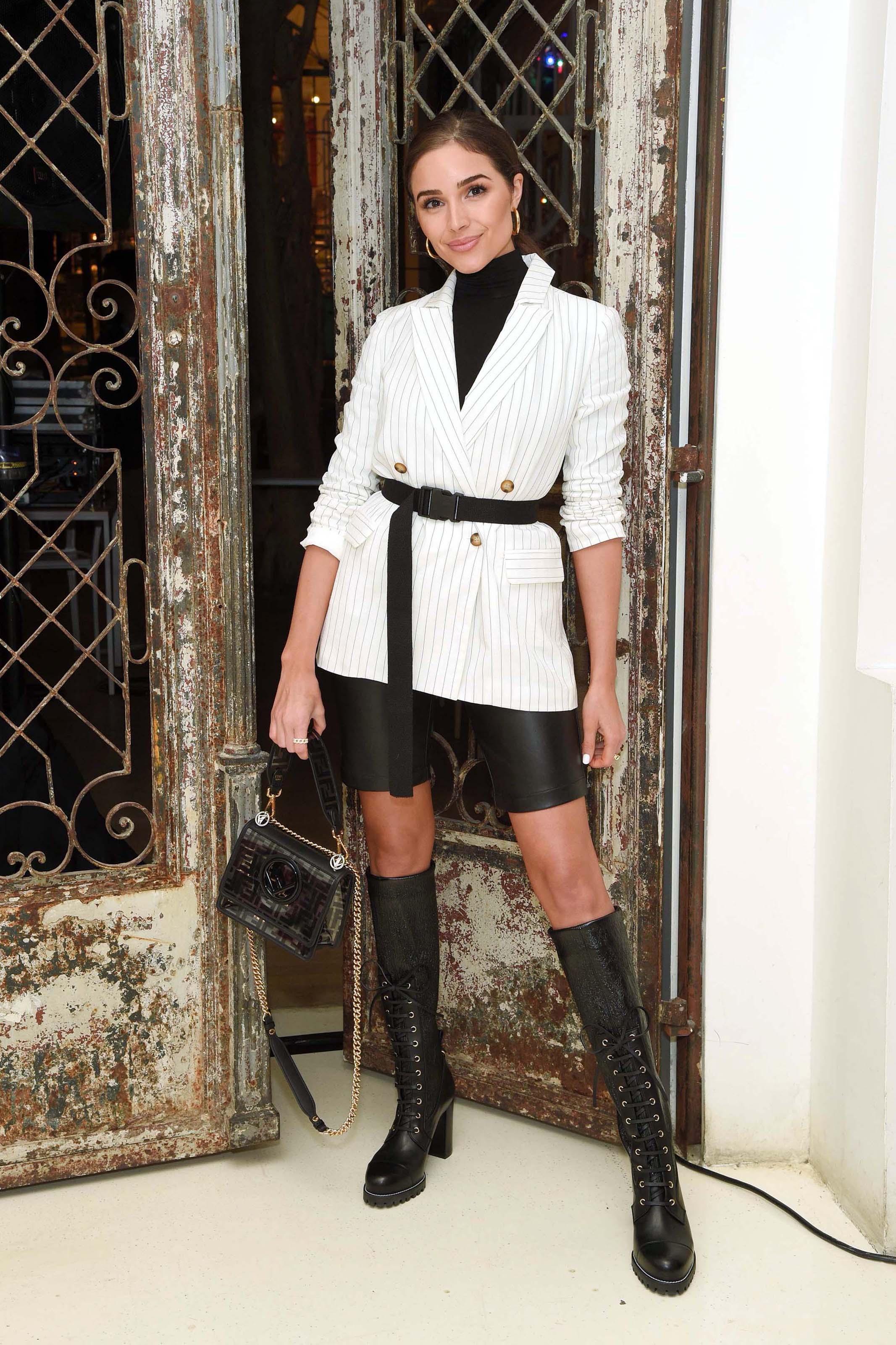 Olivia Culpo attends Express x Olivia Culpo Press Breakfast Event