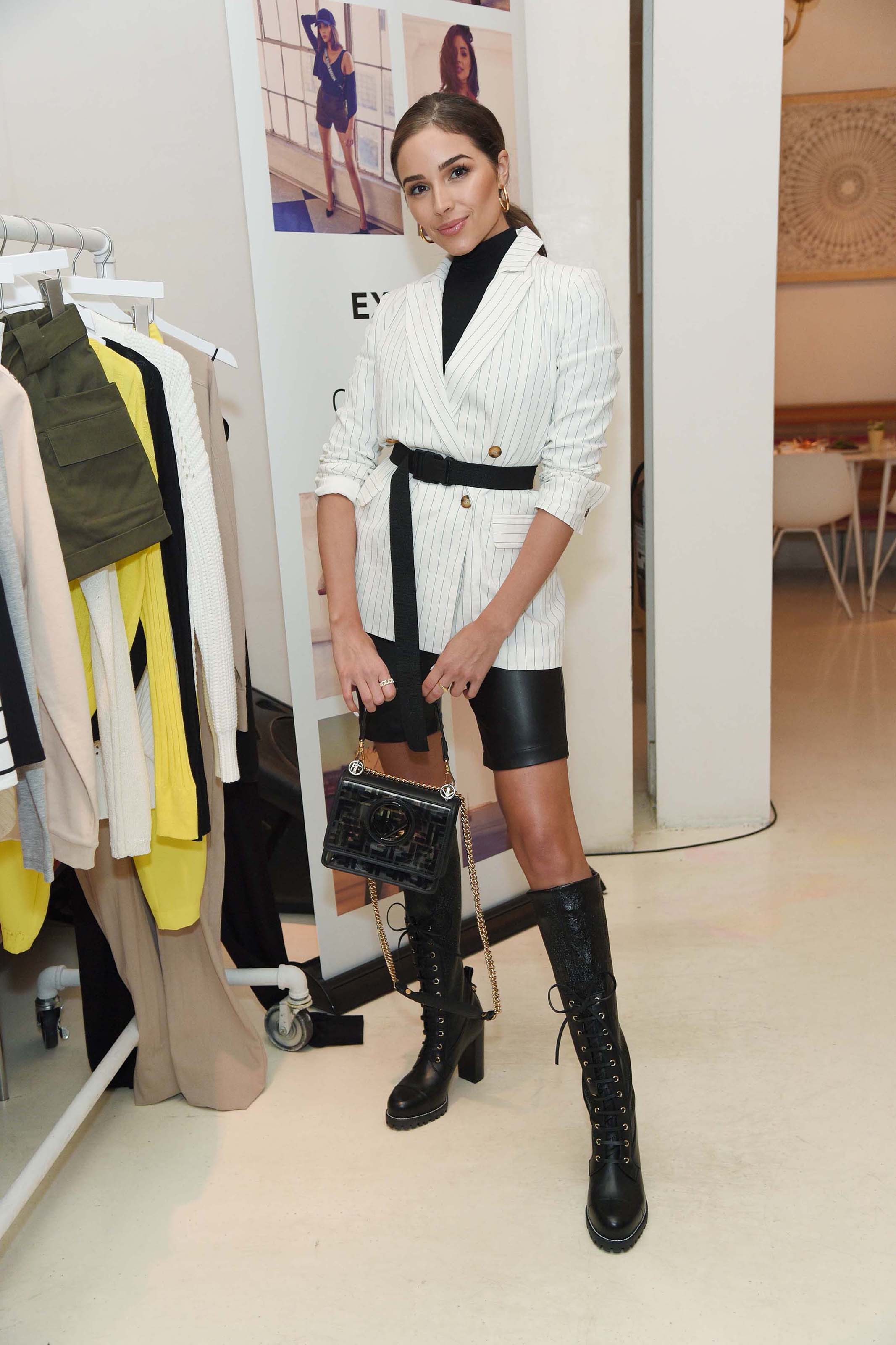Olivia Culpo attends Express x Olivia Culpo Press Breakfast Event