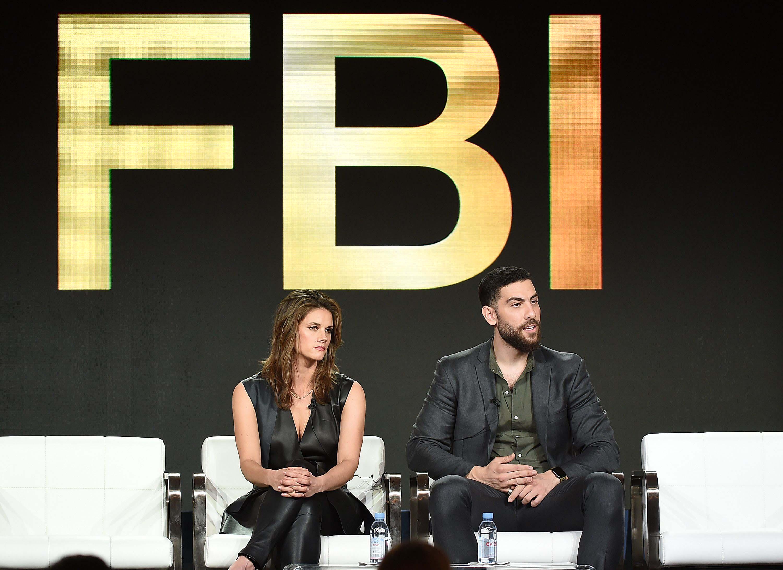 Missy Peregrym attends CBS FBI TV show panel