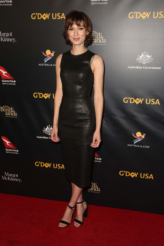 Tilda Cobham-Hervey attends 16th Annual G'Day USA Black Tie Gala