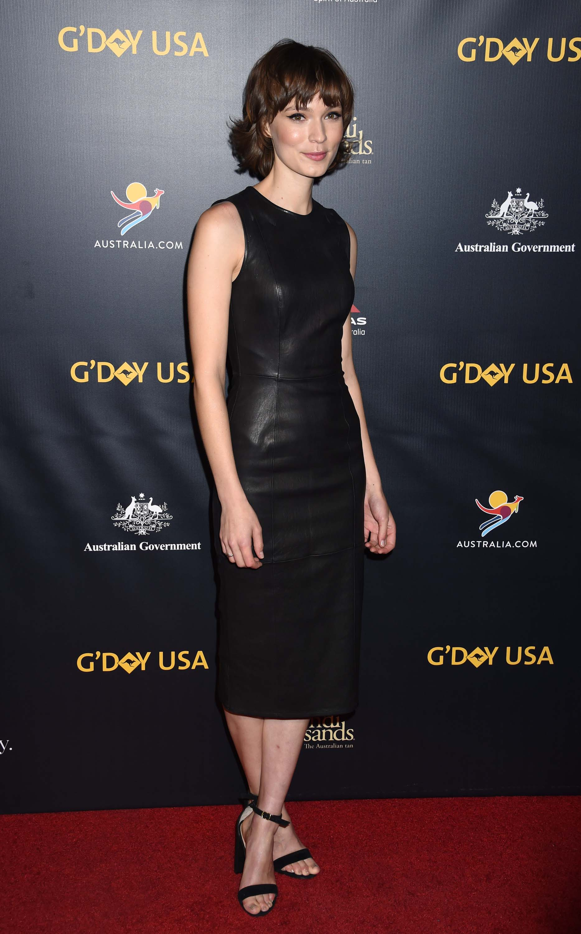 Tilda Cobham-Hervey attends 16th Annual G'Day USA Black Tie Gala