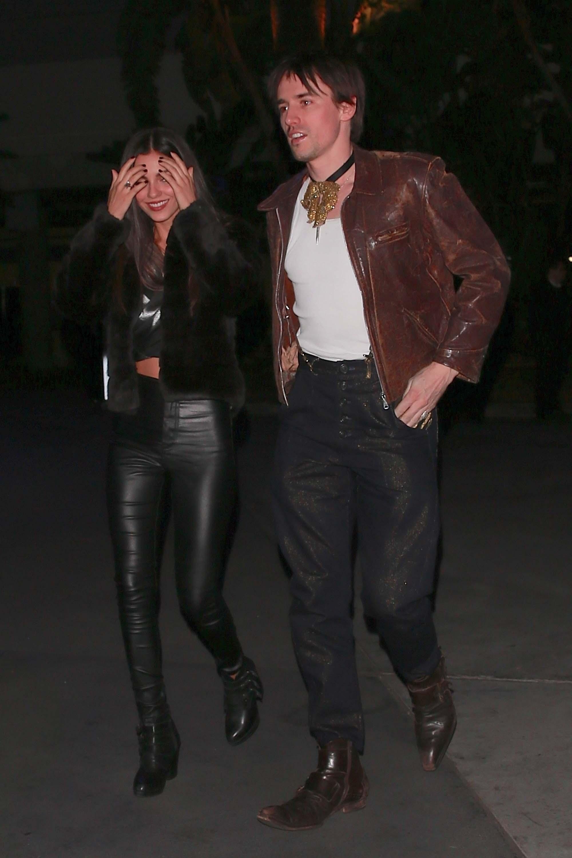 Victoria Justice attends Elton John Farewell concert private event