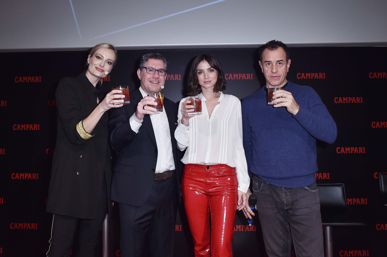 Ana de Armas attends Campari Red Diaries 2019 Press Conference