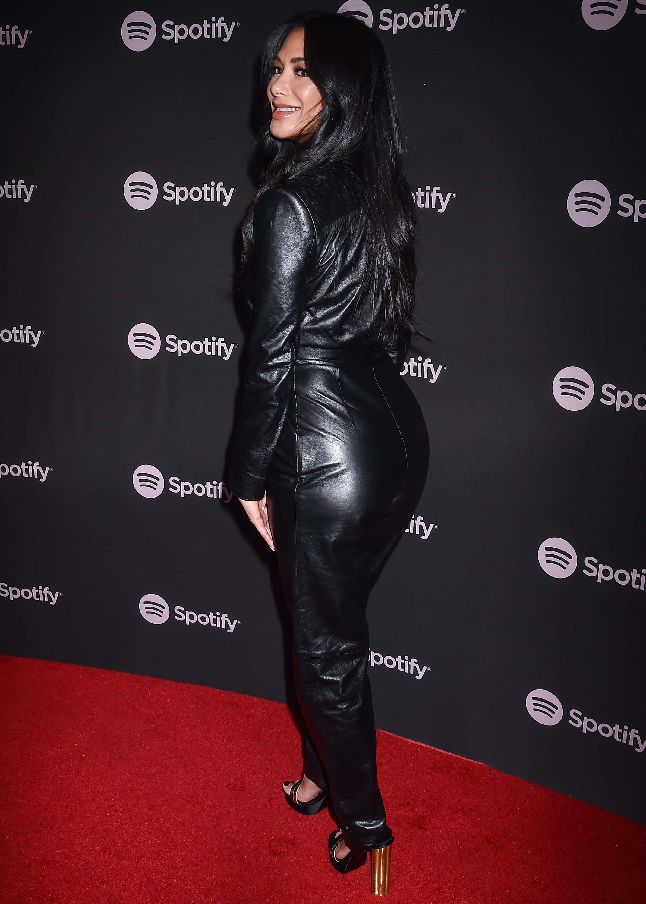 Nicole Scherzinger attends Spotify Best New Artist 2019 event